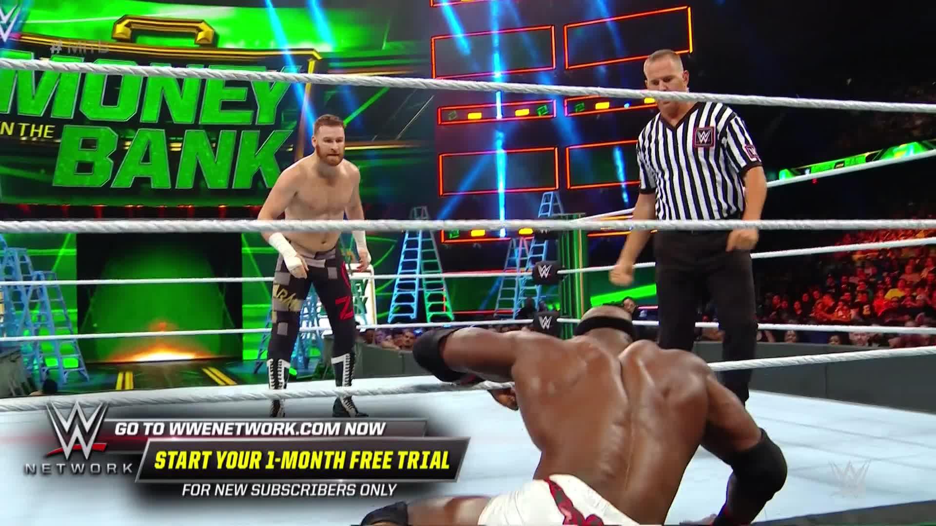 Bobby Lashley vs. Sami Zayn: WWE Money in the Bank 2018