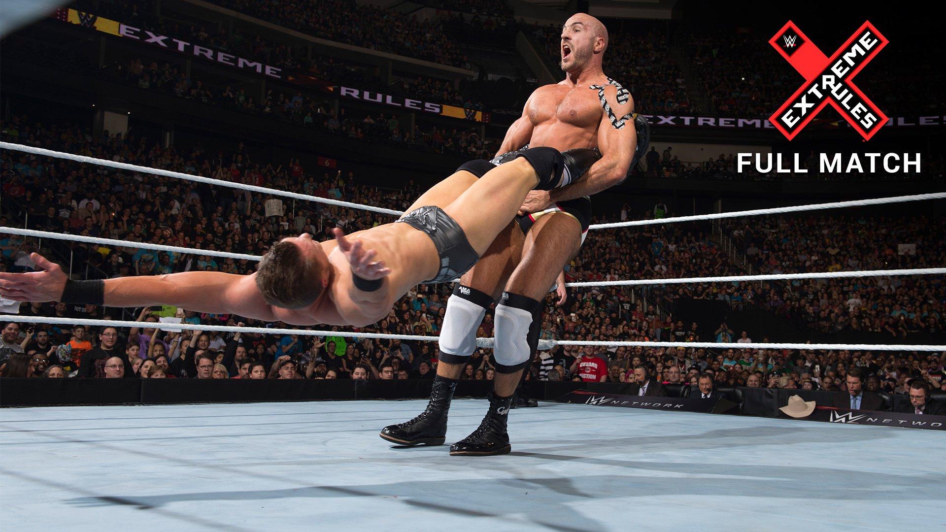Match Fatal 4-Way pour le Titre Intercontinental: WWE Extreme Rules 2016 (Match Intégral - Exclusivité WWE Network)