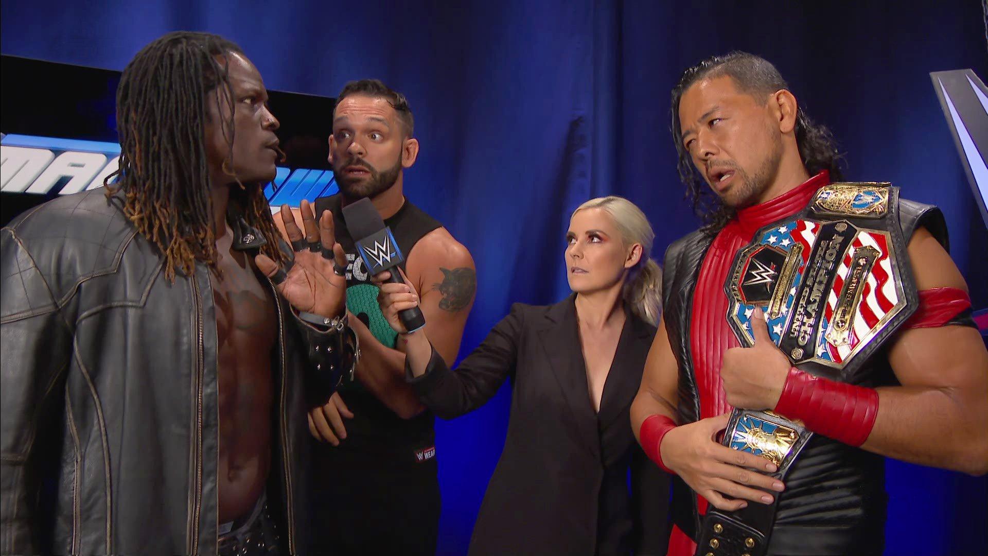 R-Truth défie Shinsuke Nakamura pour SummerSlam: SmackDown LIVE, 7 Août 2018