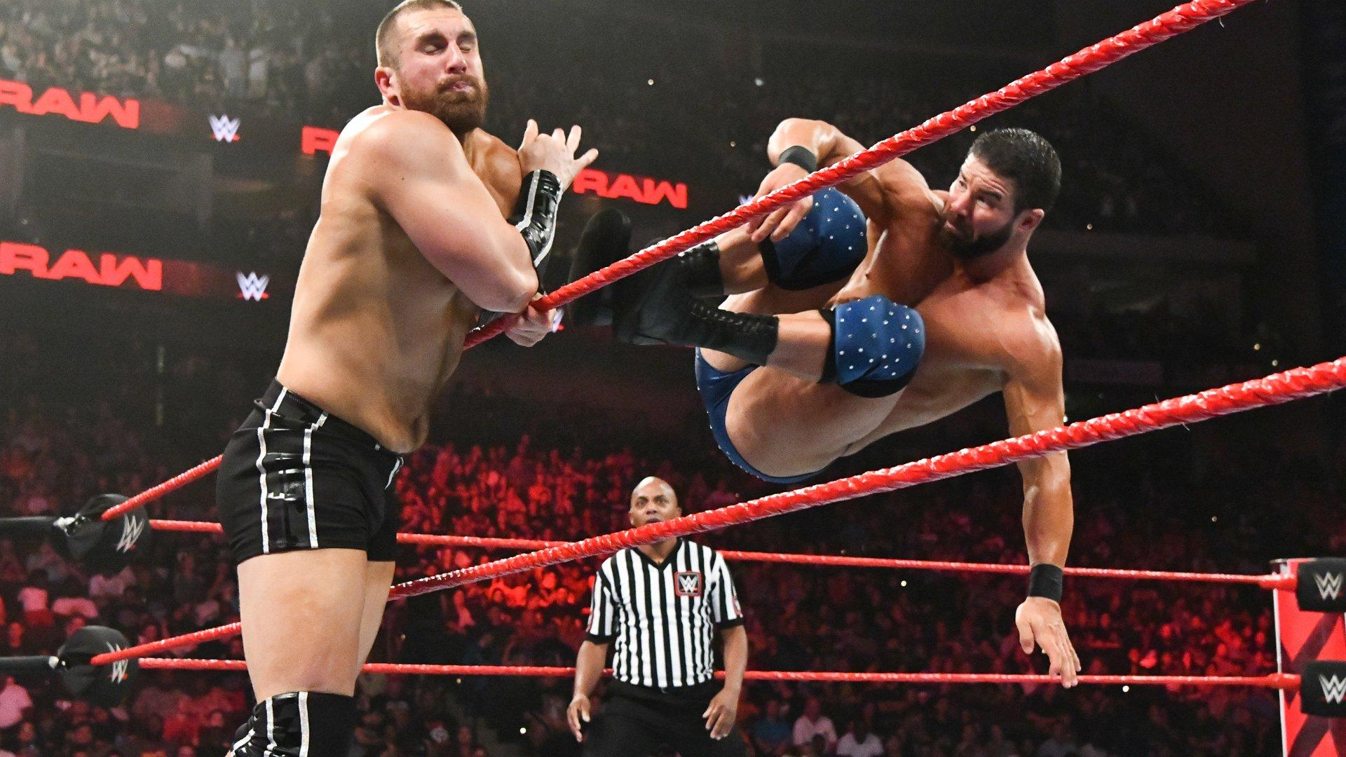 Bobby Roode vs. Mojo Rawley: Raw, 6 Août 2018