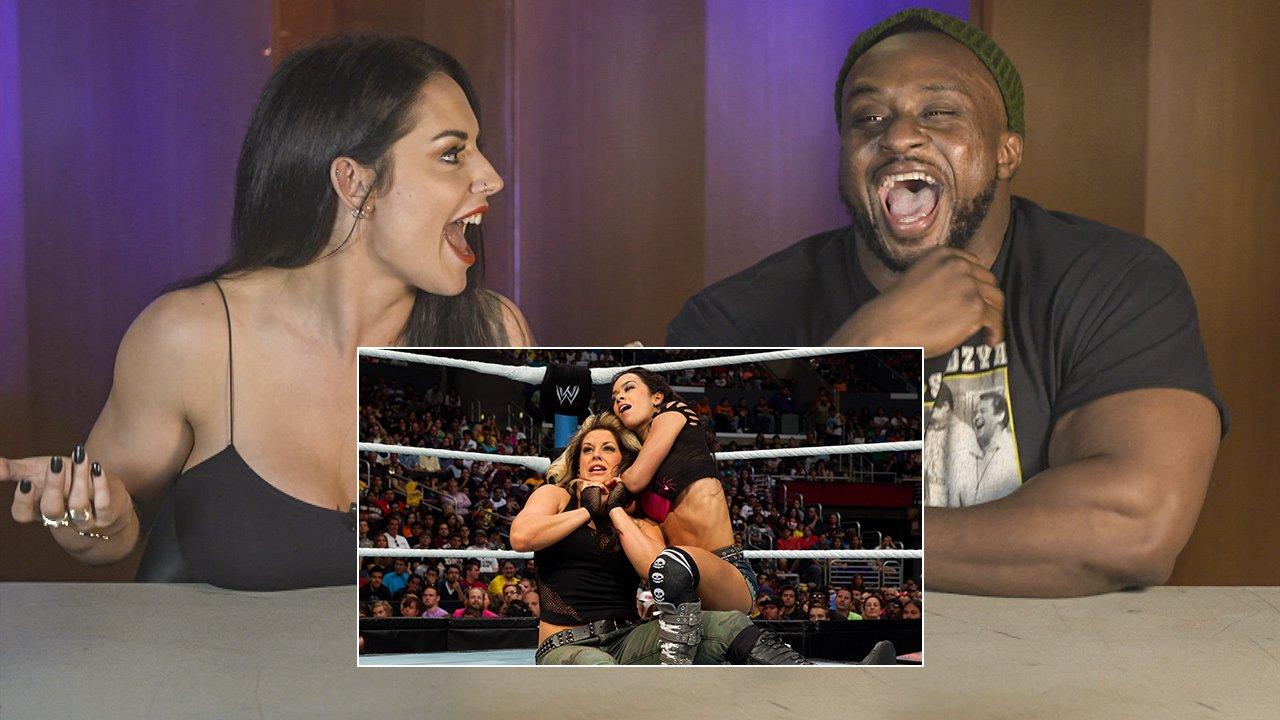 BFF's Big E & Kaitlyn regardent leur match par équipes de SummerSlam 2013: WWE Playback