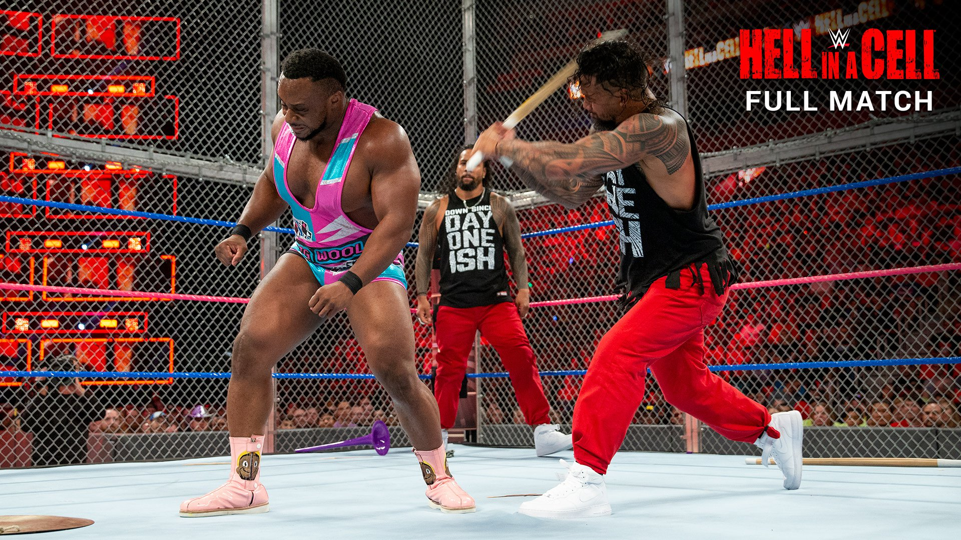 The New Day vs. The Usos - SmackDown Tag Team Title Match: WWE Hell in a Cell 2017 (Full Match - WWE Network Exclusive)