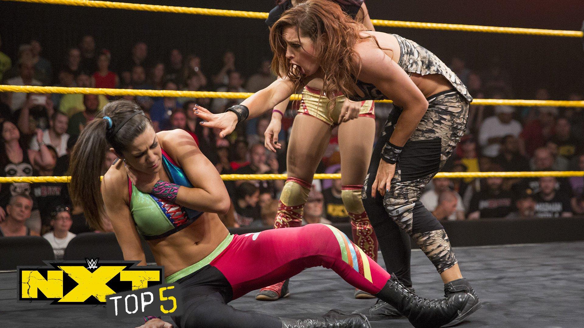 Les trahisons les plus sauvages: NXT Top 5,  28 Août 2018
