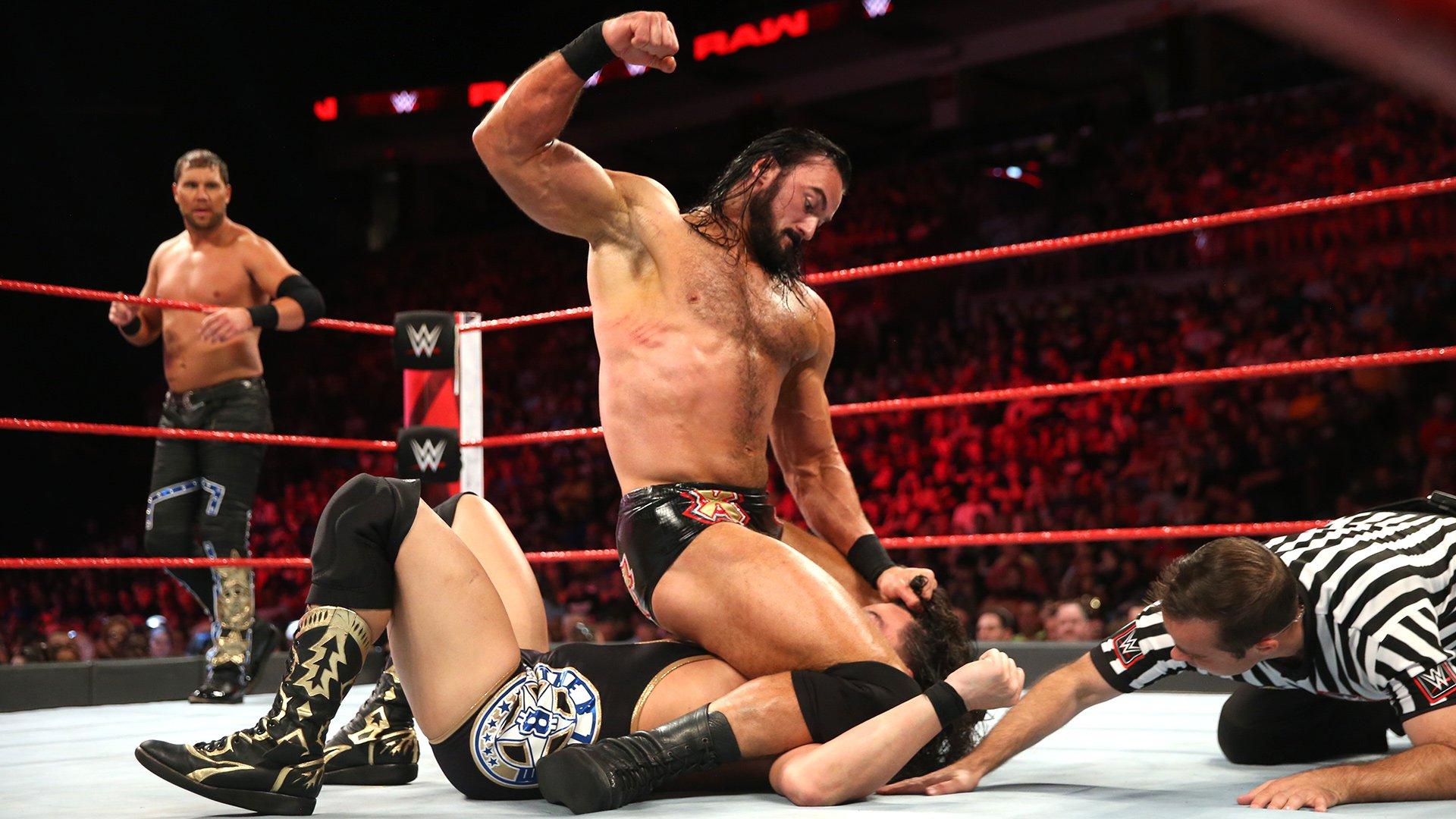 The B-Team vs. Dolph Ziggler & Drew McIntyre - Match pour les Titres par Équipes de Raw: Raw, 3 Septembre 2018