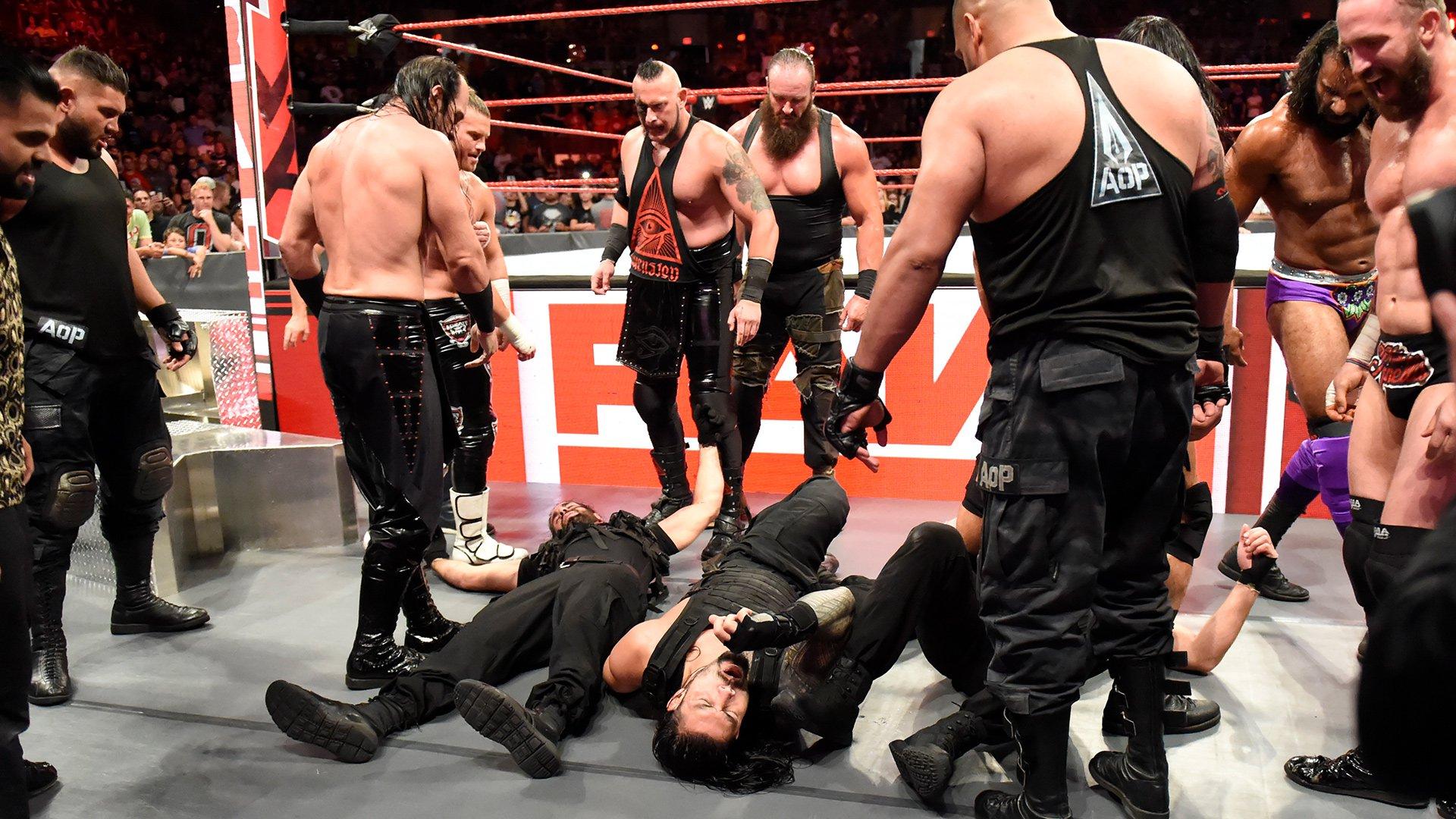 The Shield brutalisés dans un énorme guet-apens: Raw, 3 Septembre 2018