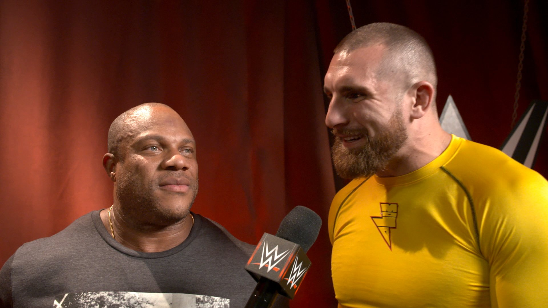 Seven-Time Mr. Olympia Phil Heath drops in on Raw: WWE.com Exclusive, Sept. 24, 2018