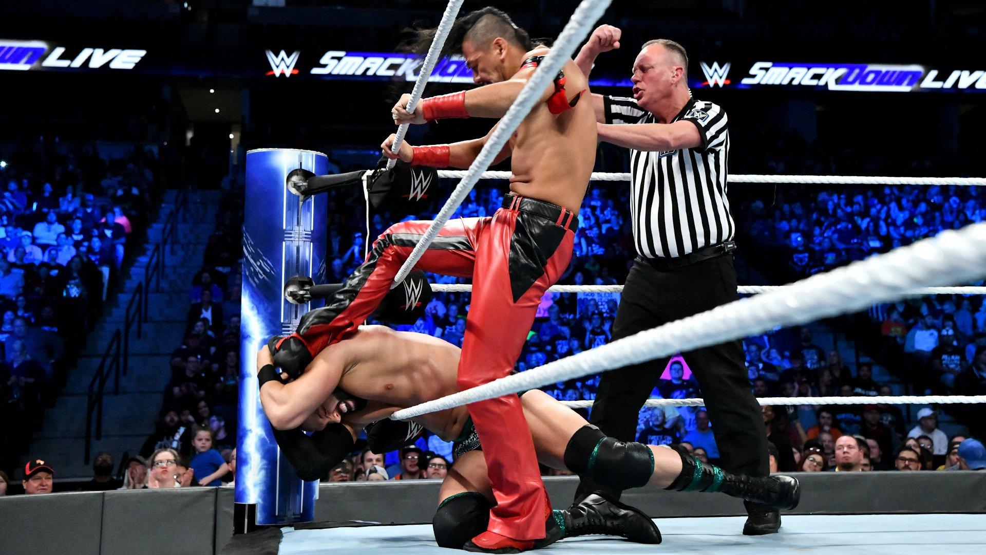 Tye Dillinger vs. Shinsuke Nakamura: SmackDown LIVE, Sept. 25, 2018