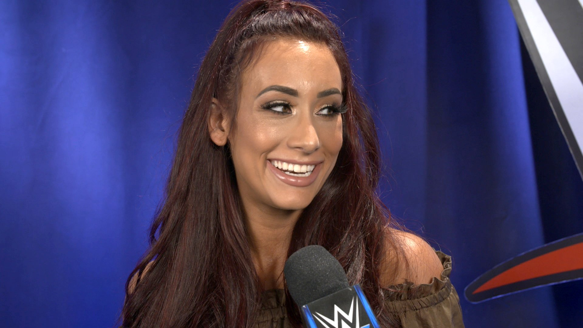 Why Did Carmella Change Her Hair Color Wwe Exclusive Sept 25