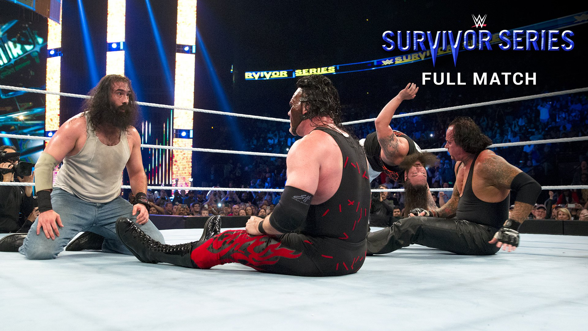 The Brothers of Destruction vs. The Wyatt Family: Survivor Series 2015 (Full match - WWE Network Exclusive)