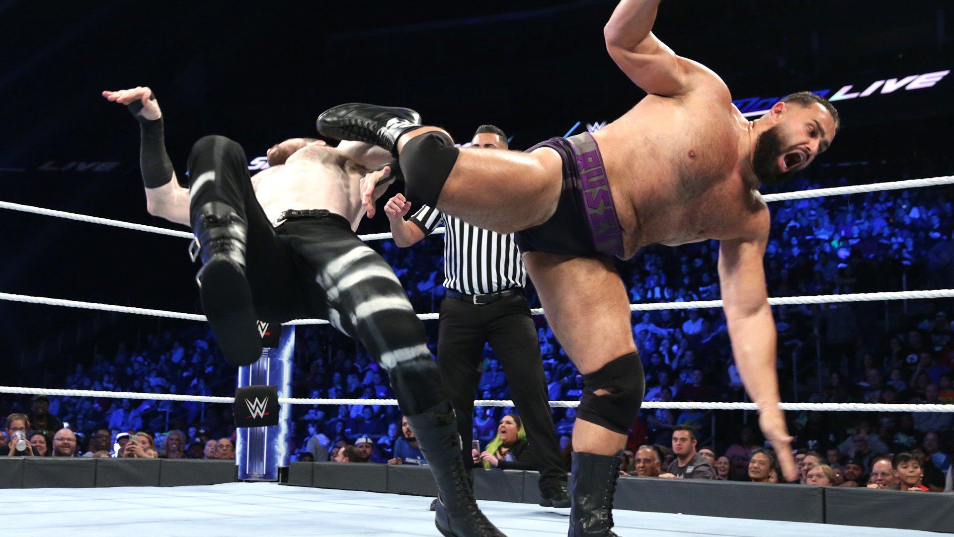 Rusev vs. Aiden English: SmackDown LIVE, 23 Octobre 2018