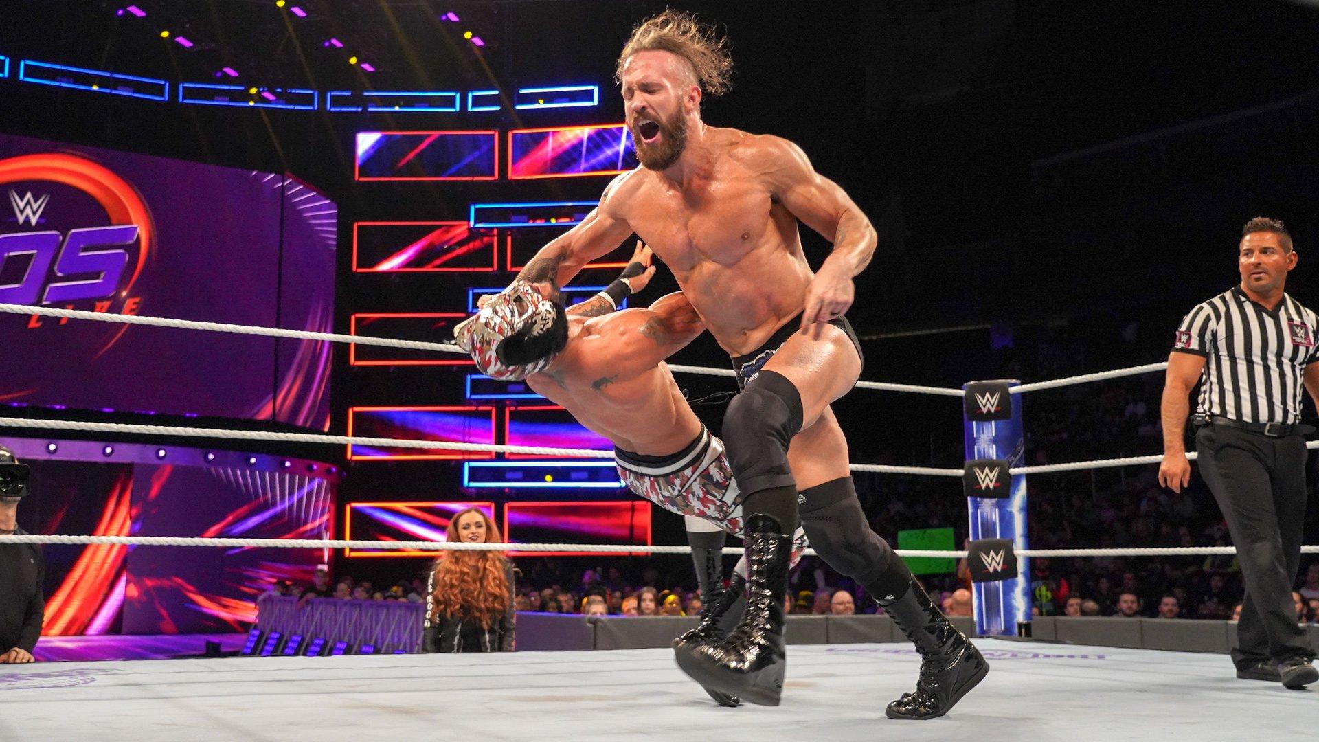 Lince Dorado vs. Mike Kanellis: WWE 205 Live, 24 Octobre 2018