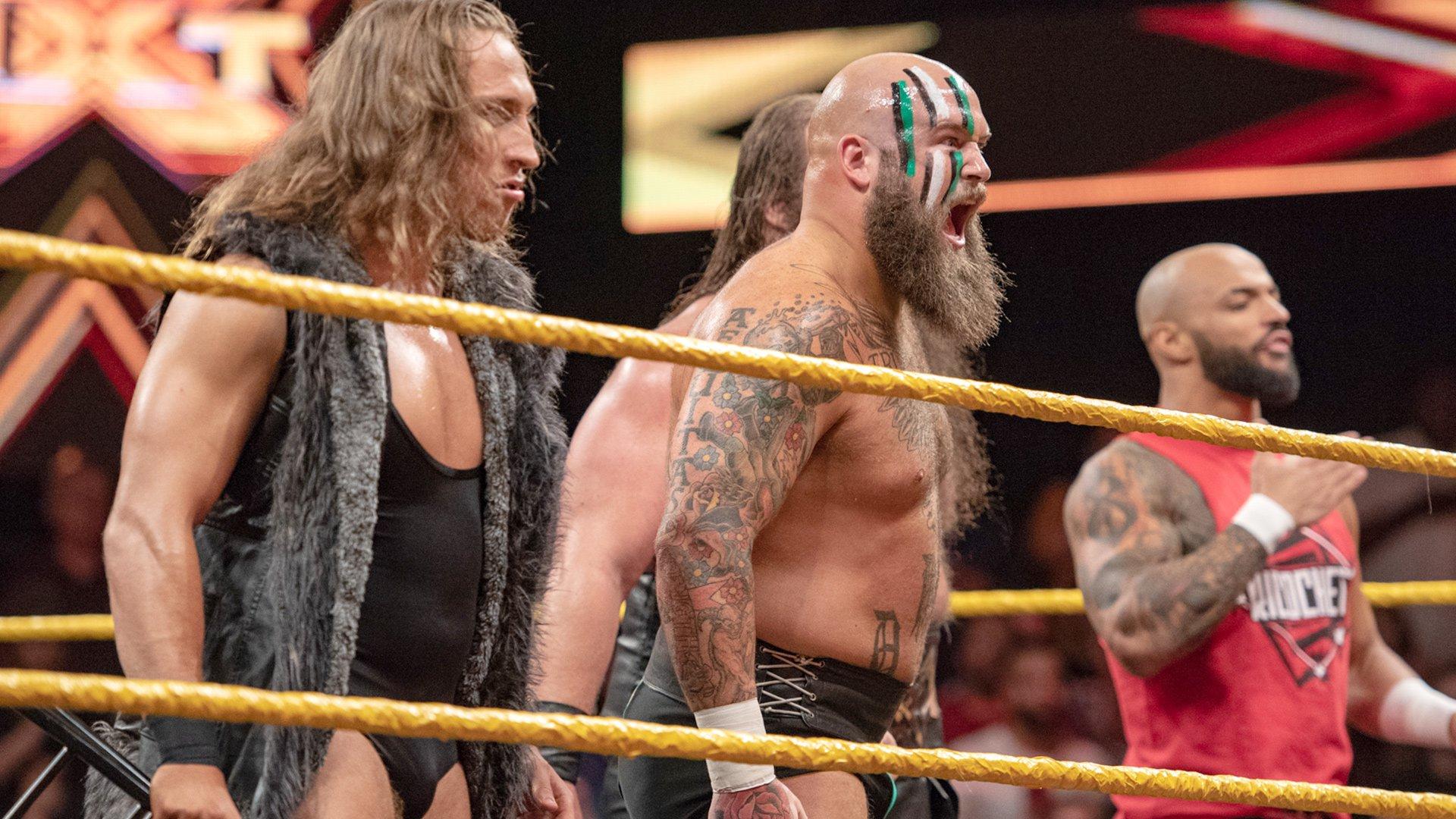 Pete Dunne aude Ricochet et War Raiders contre Undisputed ERA: WWE NXT, 31 Octobre 2018