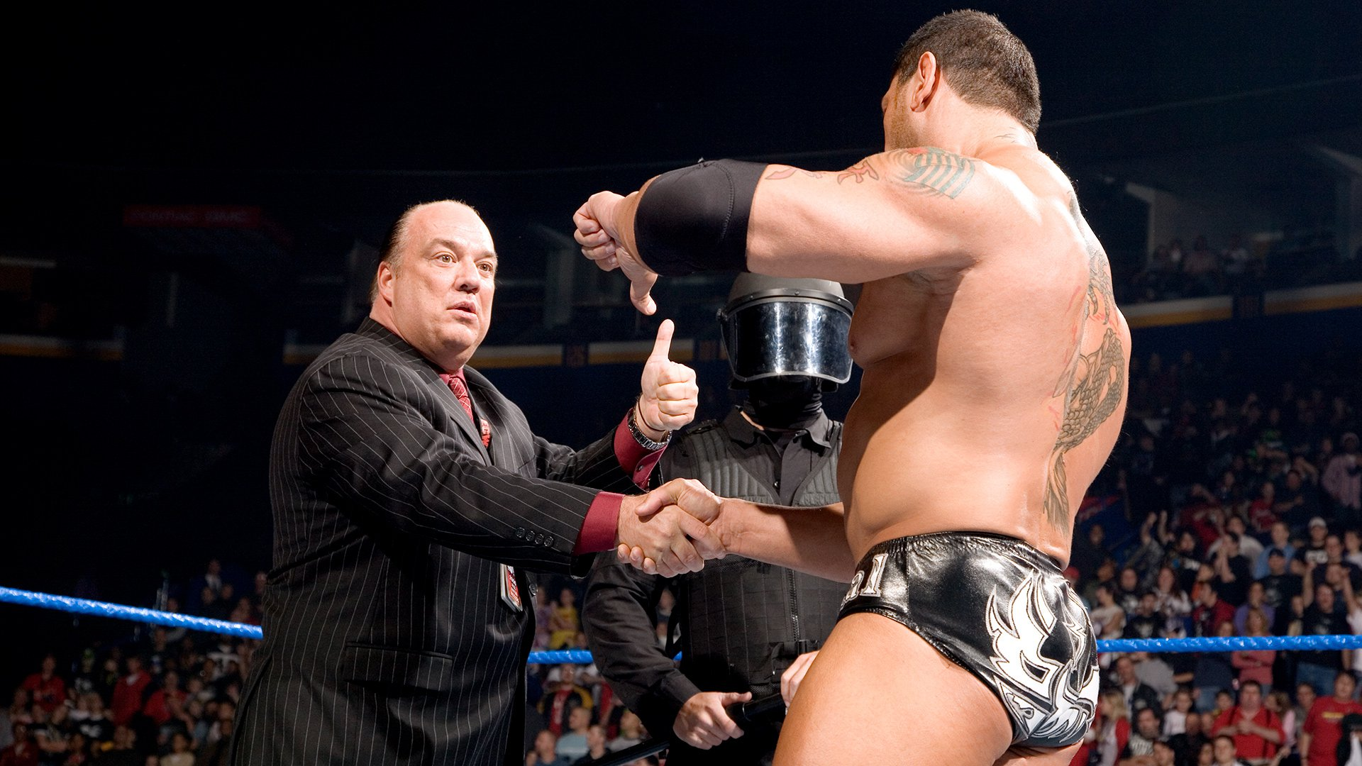 Paul Heyman's failed ECW recruitment of Batista: SmackDown Oct. 27, 2006