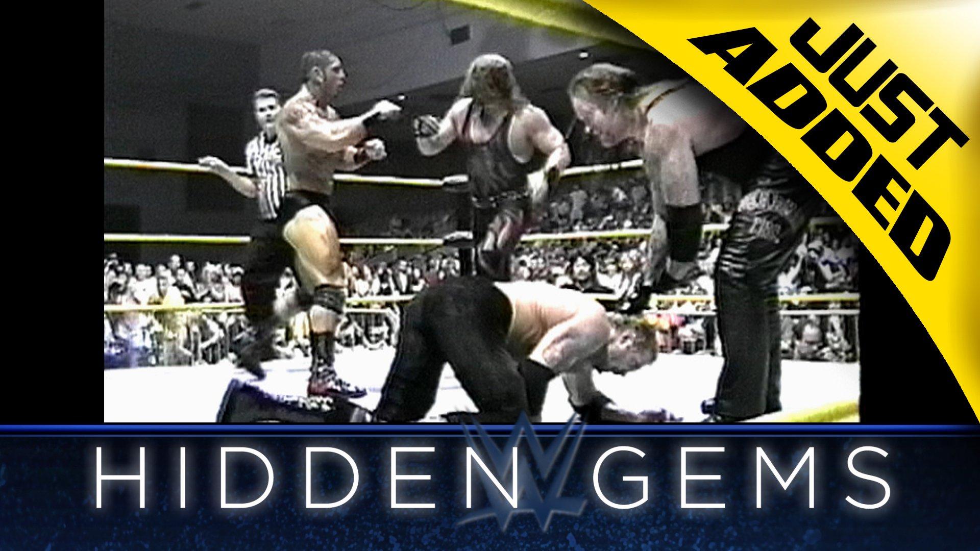 The Brothers of Destruction contre DDP & Batista (comme Leviathan) dans un rare WWE Hidden Gem (Exclusivité WWE Network)