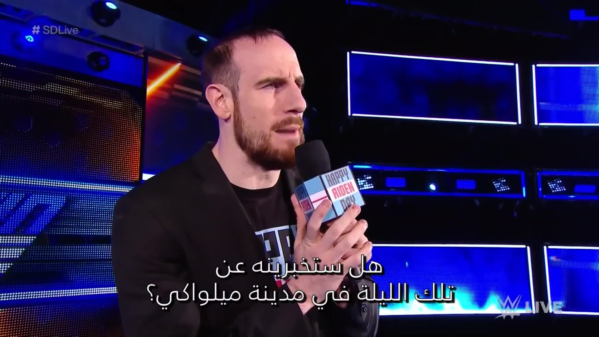 Why Aiden English attacked Rusev: Wal3ooha, 27 September, 2018