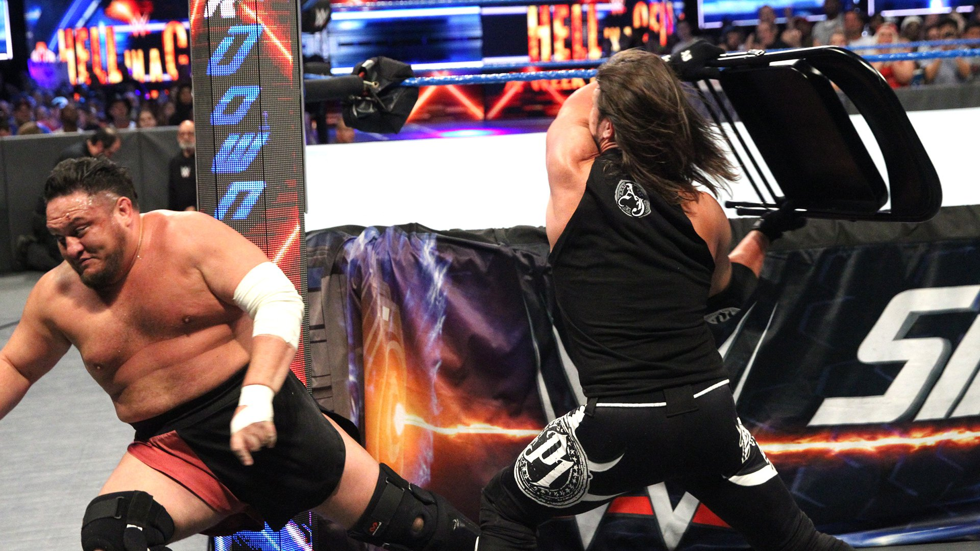 Painfully wrestling scene 4