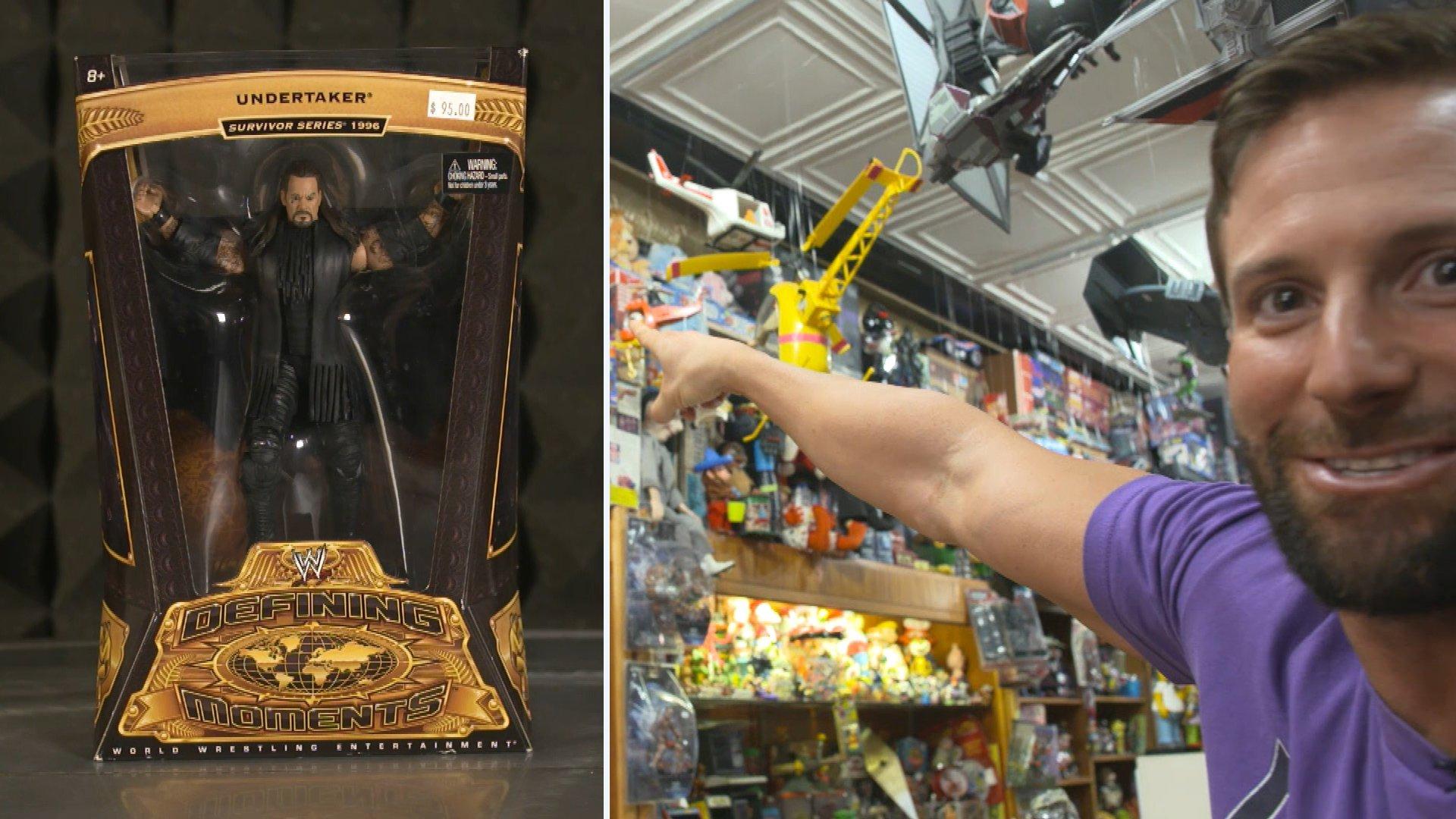 Zack Ryder découvre une figurine de l'Undertaker incroyablement rare: Zack & Curt Figure It Out