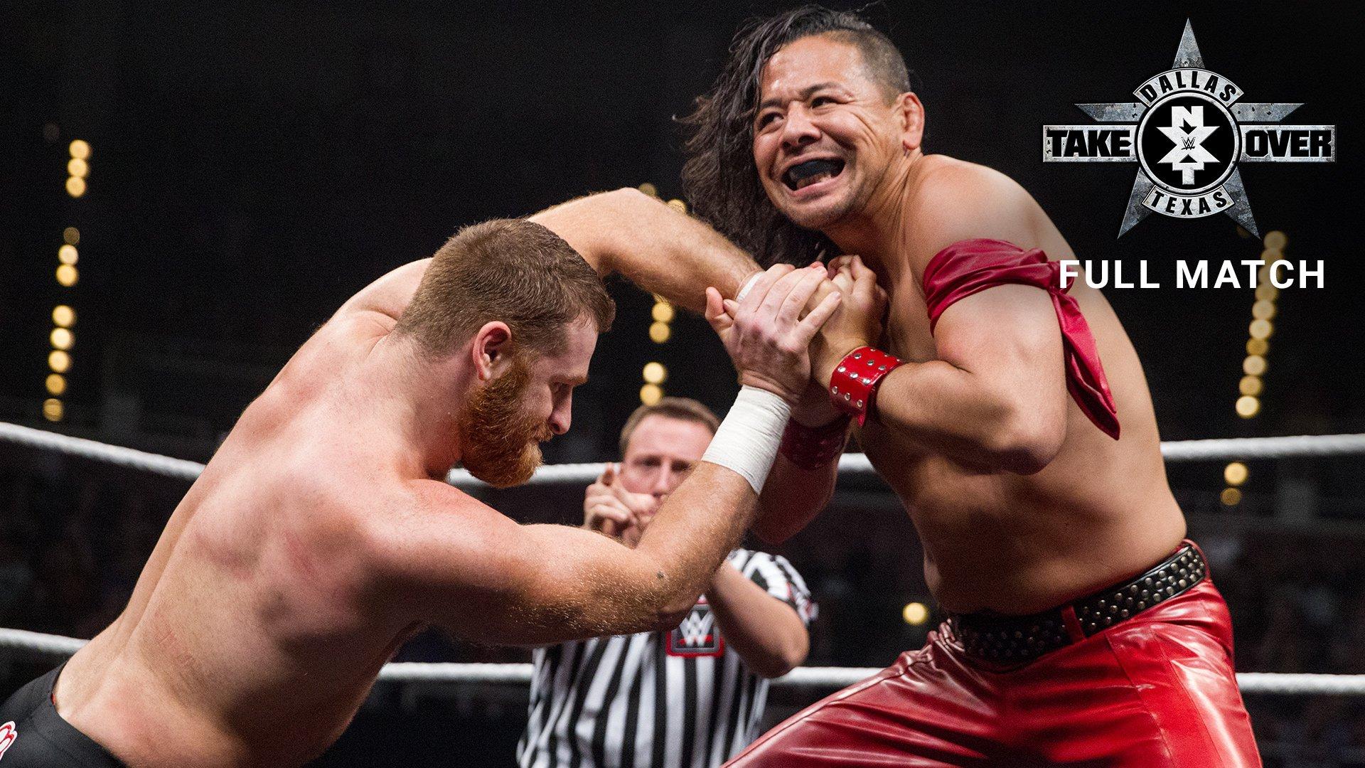 Shinsuke Nakamura vs. Sami Zayn: NXT TakeOver: Dallas 2016 (Full Match - WWE Network Exclusive)