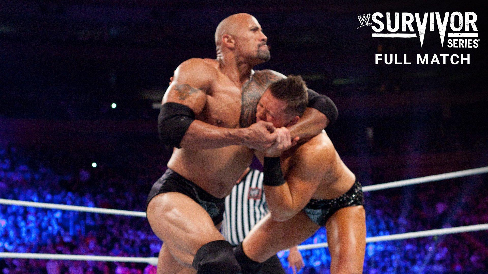 The Rock & John Cena vs. R-Truth & The Miz: Survivor Series 2011 (Match Intégral - Exclusivité WWE Network)