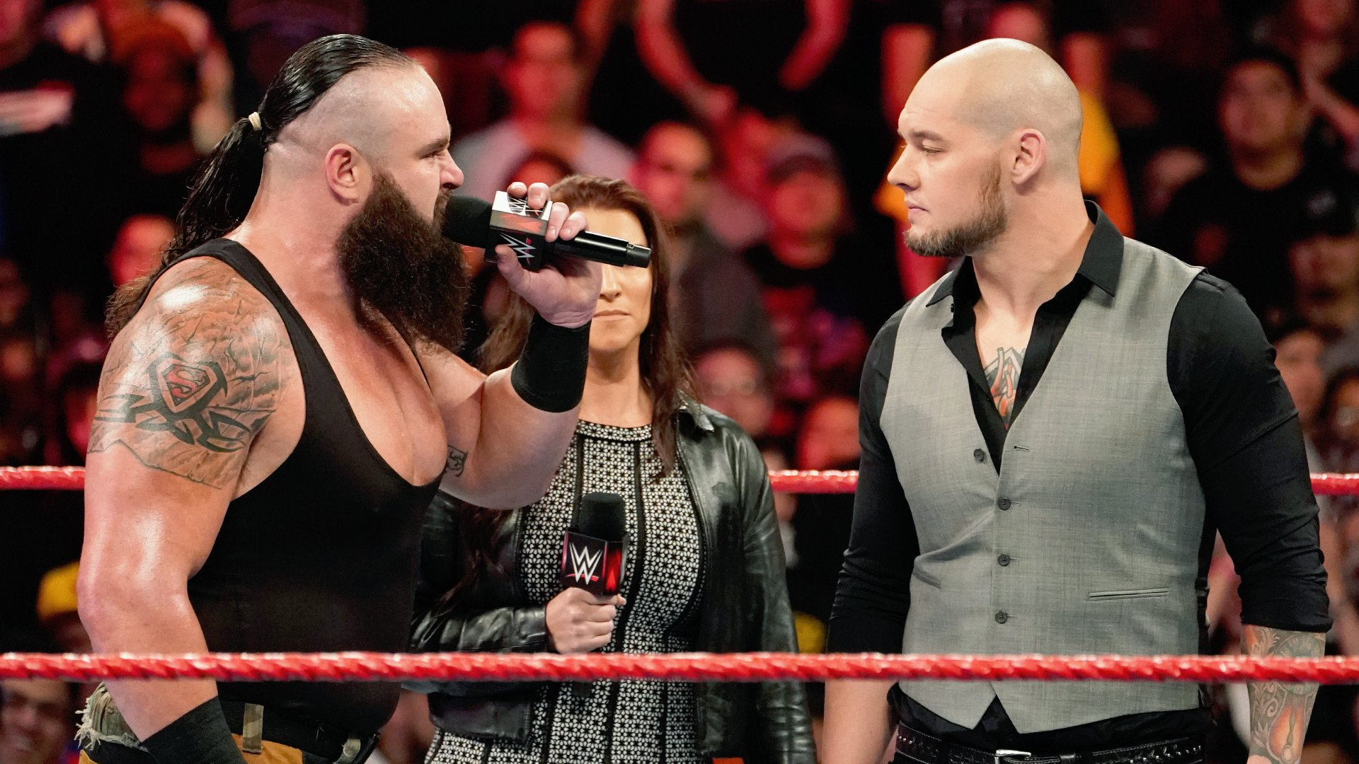 Braun Strowman veut affronter Baron Corbin dans un match Tables, Ladders & Chairs: Raw, 19 Novembre 2018