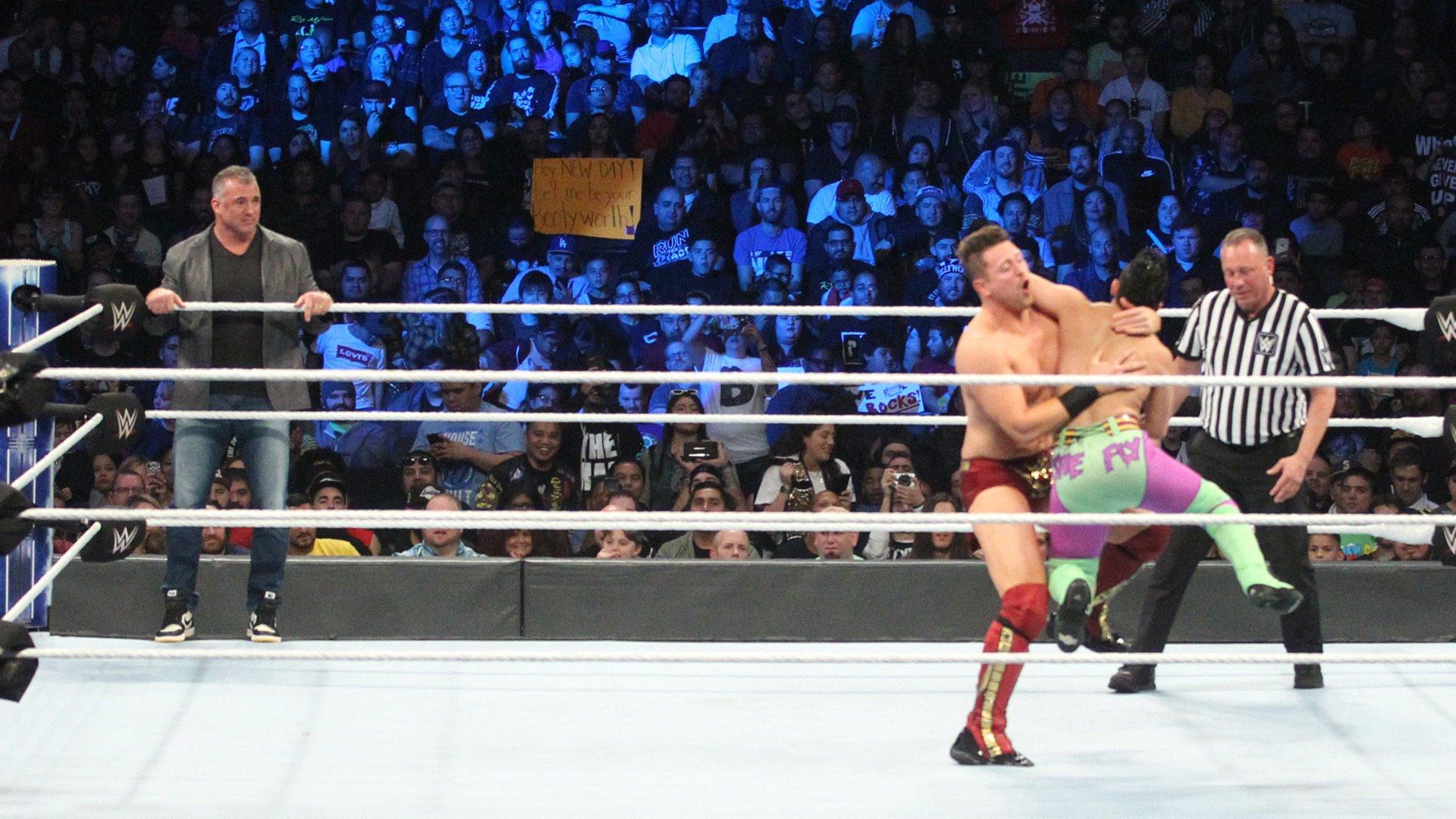 Shane McMahon & The Miz vs. The Bryant Brothers: SmackDown LIVE, Nov. 20, 2018
