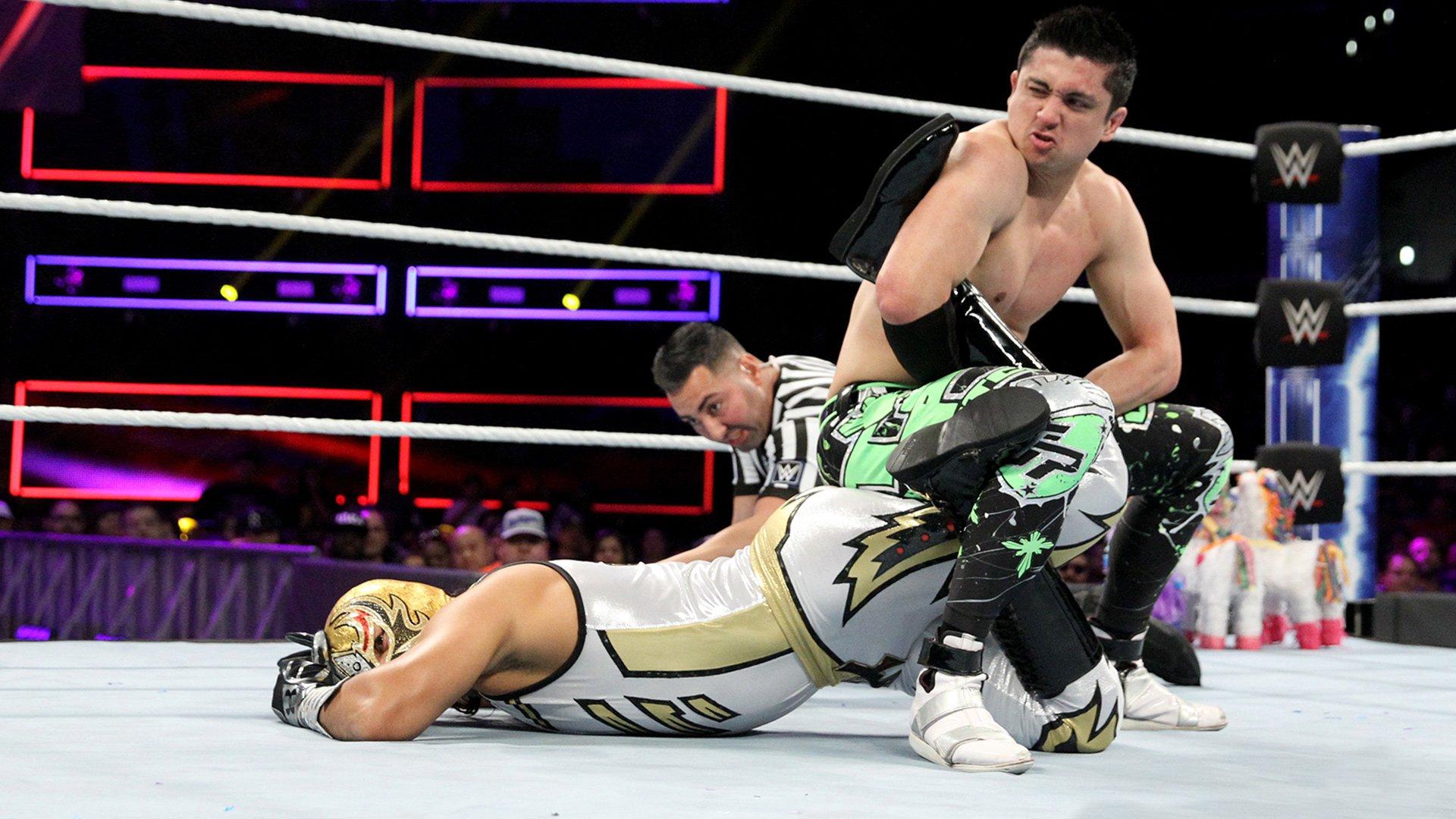 Gran Metalik vs. TJP: WWE 205 Live: 21 Novembre 2018