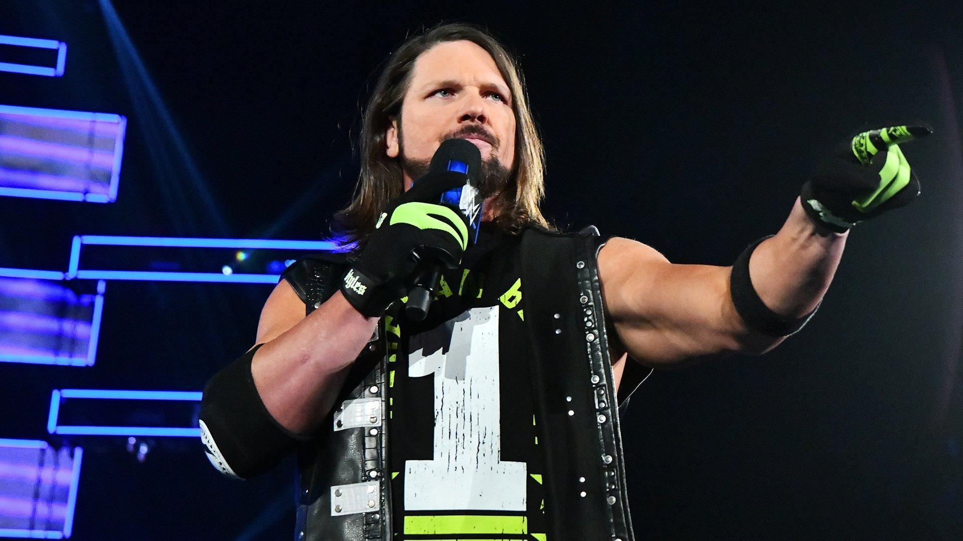 AJ Styles promet de donner un rappel douloureux à Daniel Bryan lors de WWE TLC: SmackDown LIVE, 27 Novembre 2018