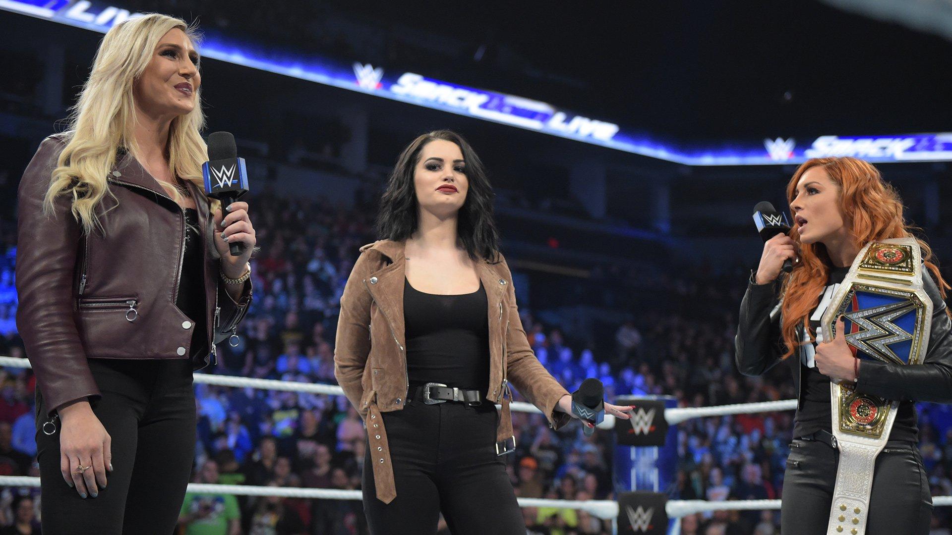 Becky Lynch et Charlotte Flair clasheront dans un Match TLC: SmackDown LIVE, 27 Novembre 2018