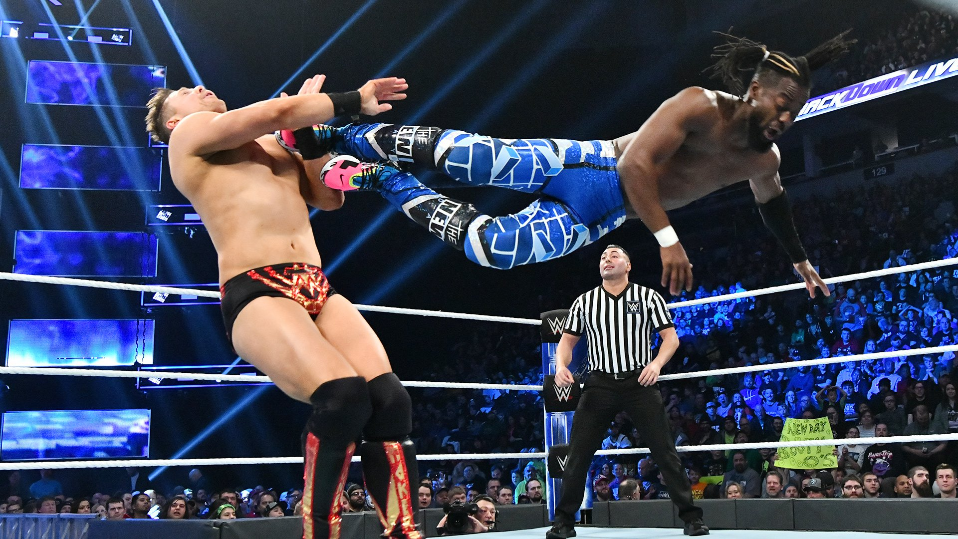 Kofi Kingston vs. The Miz: SmackDown LIVE, 27 Novembre 2018
