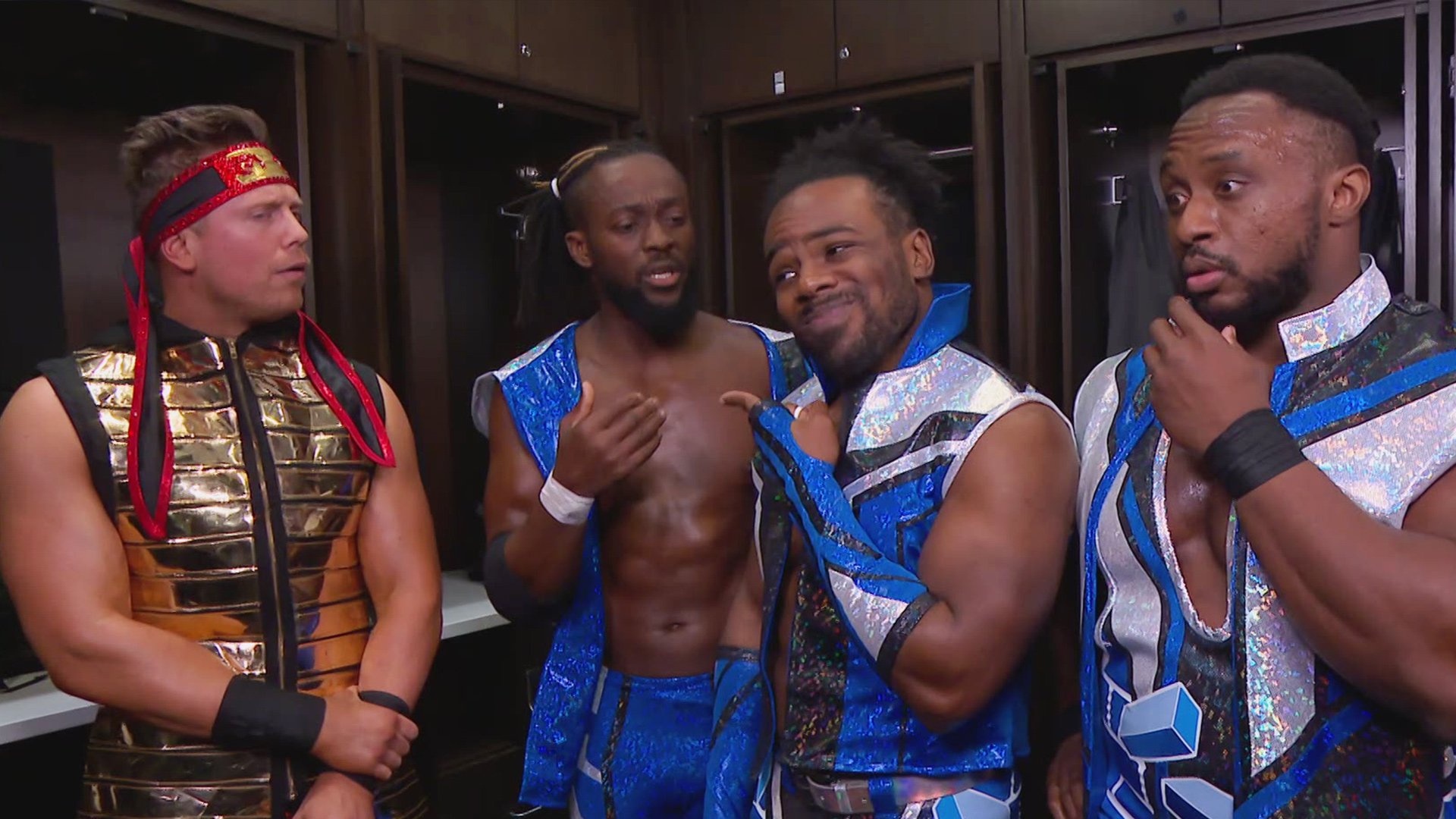 The New Day se moquent de la défaite du Miz contre les Bryant Brothers: SmackDown LIVE, 27 Novembre 2018