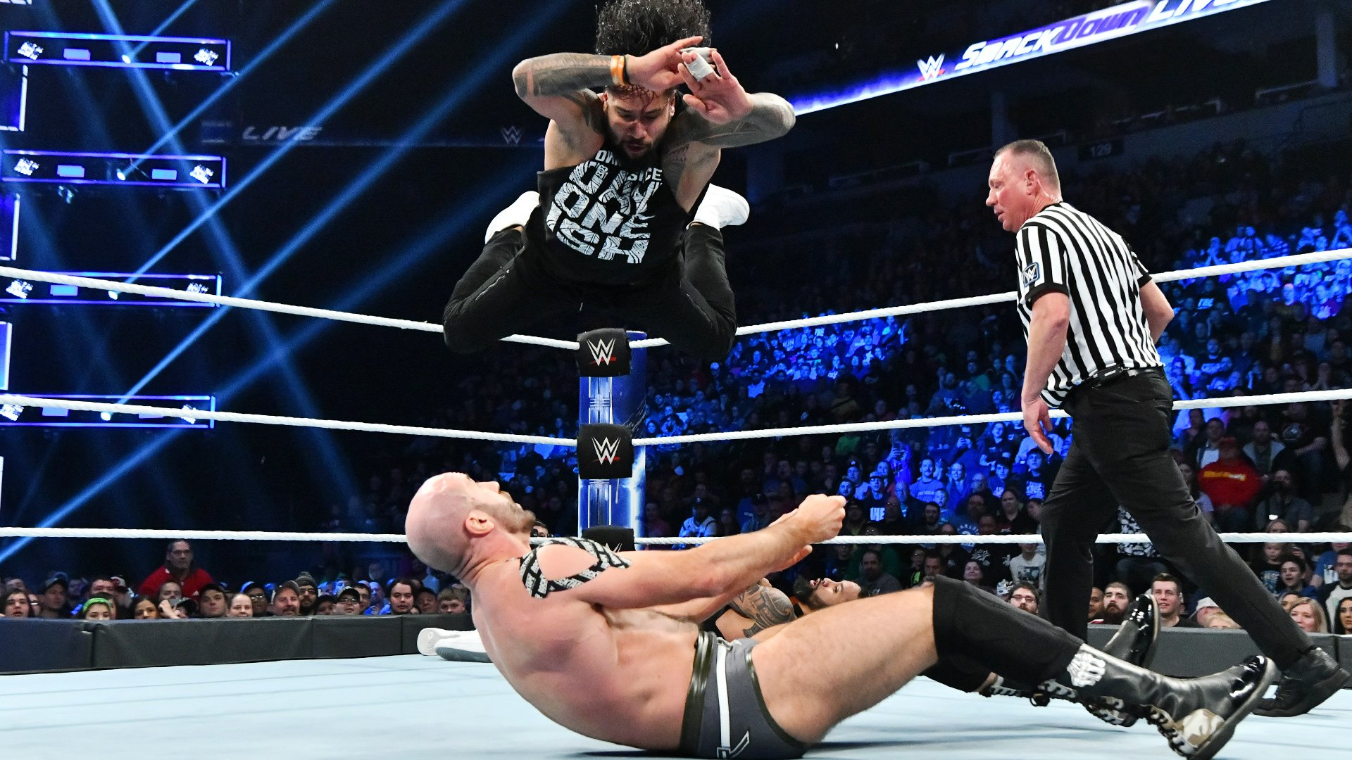 The Usos vs. The Bar: SmackDown LIVE, 27 Novembre 2018