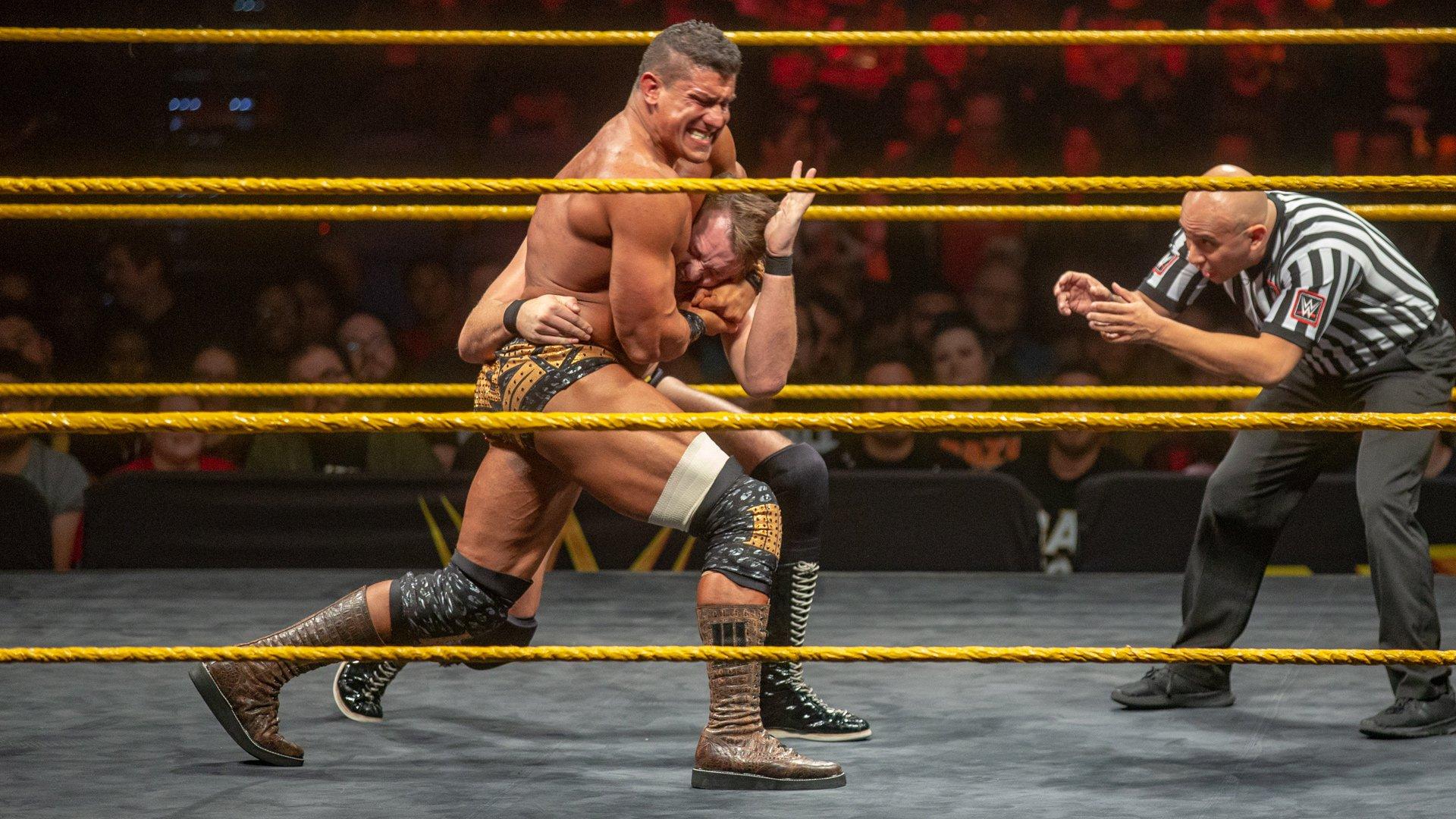 EC3 vs. Marcel Barthel: WWE NXT, 28 Novembre 2018