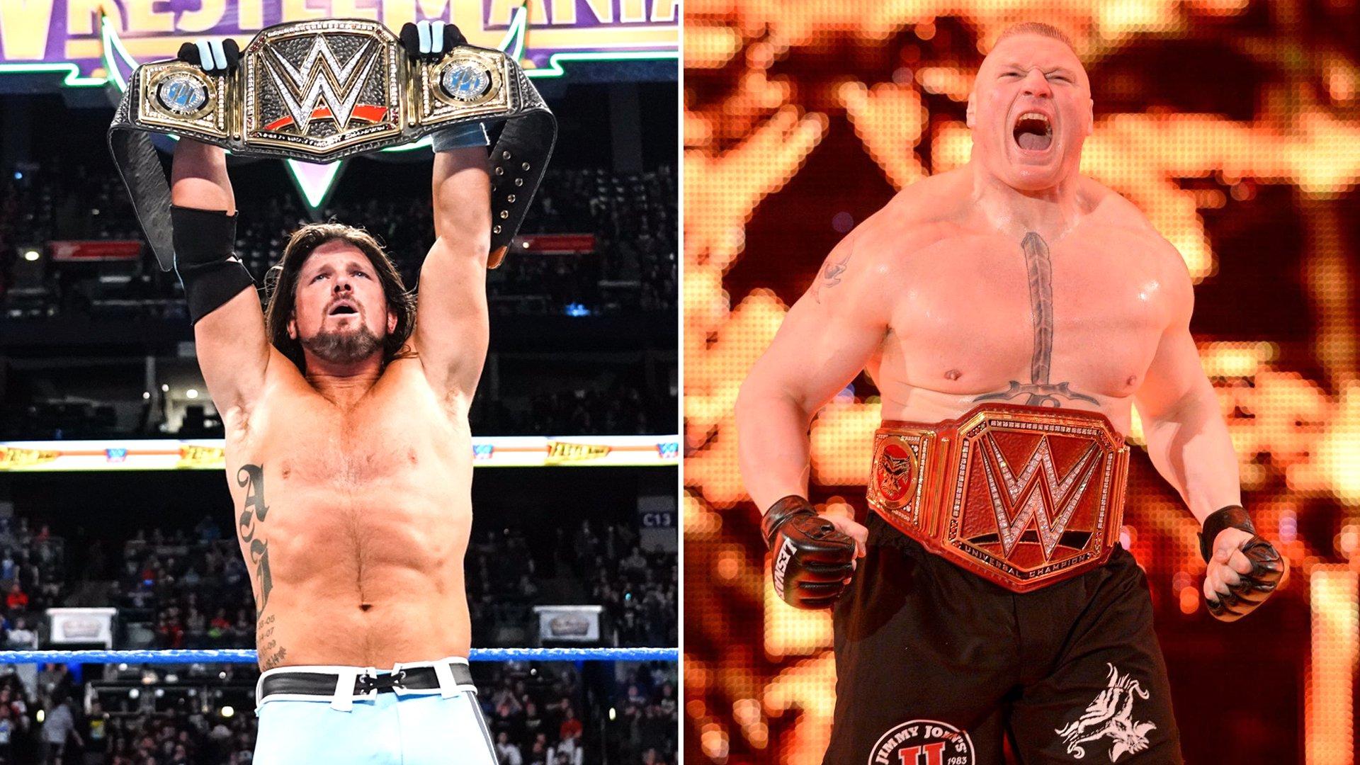 Préférez vous être Champion WWE ou Universel?: WWE Head to Head
