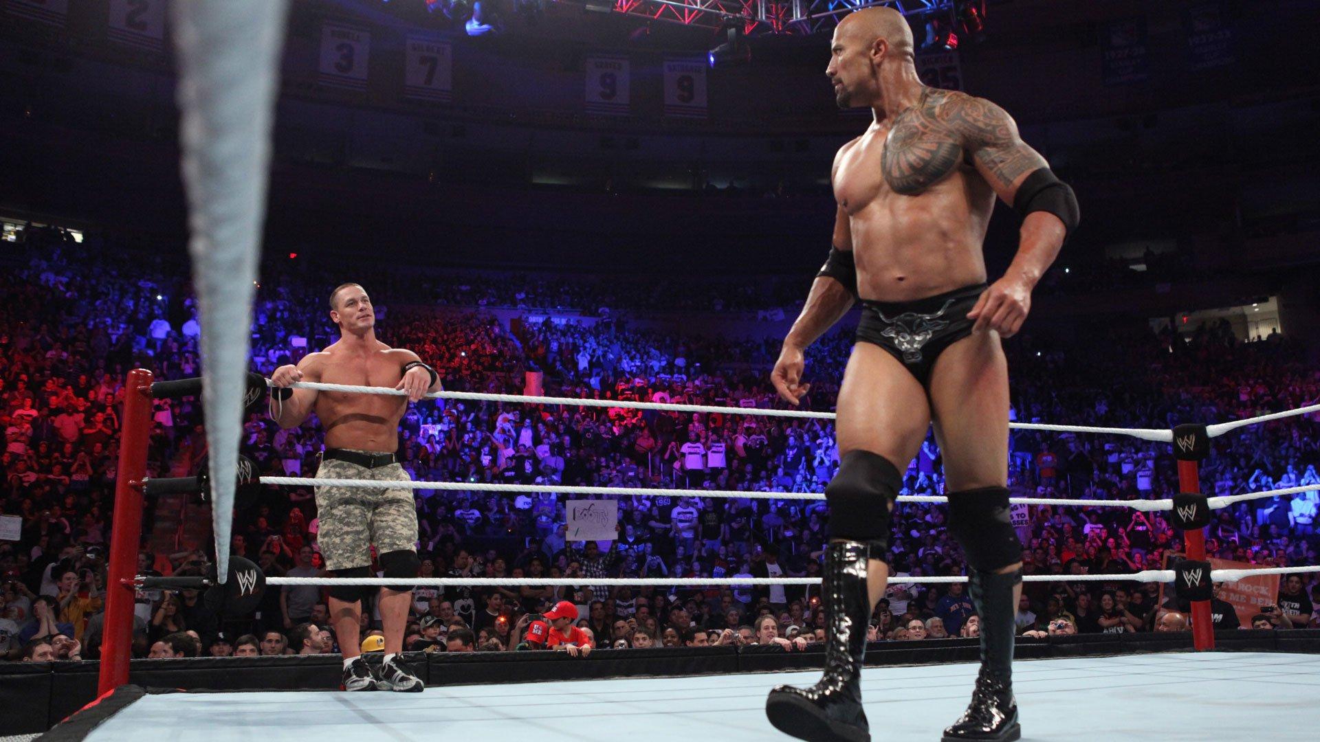 WWE Marquee Matches: The Rock & John Cena mettent leurs différences de côté dans un match par équipes (Exclusivité WWE Network)