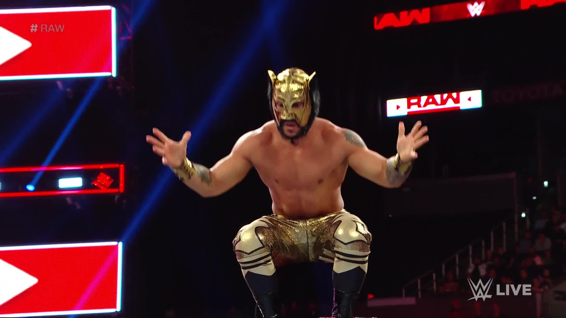 Lucha House Party vs. The Revival - Match par Équipes aux Règles Lucha House: Raw, 19 Novembre 2018
