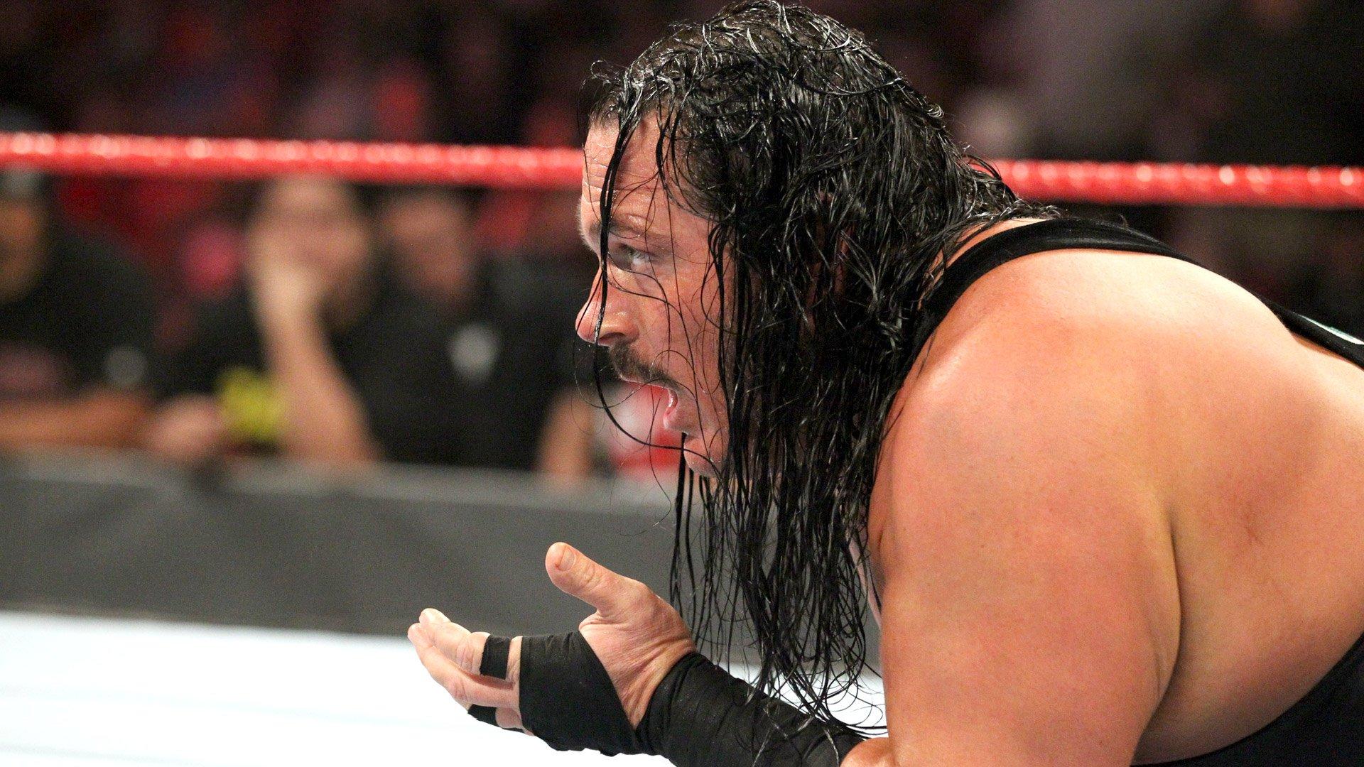 Heath Slater vs. Rhyno - Le perdant est viré: Raw, 3 Décembre 2018