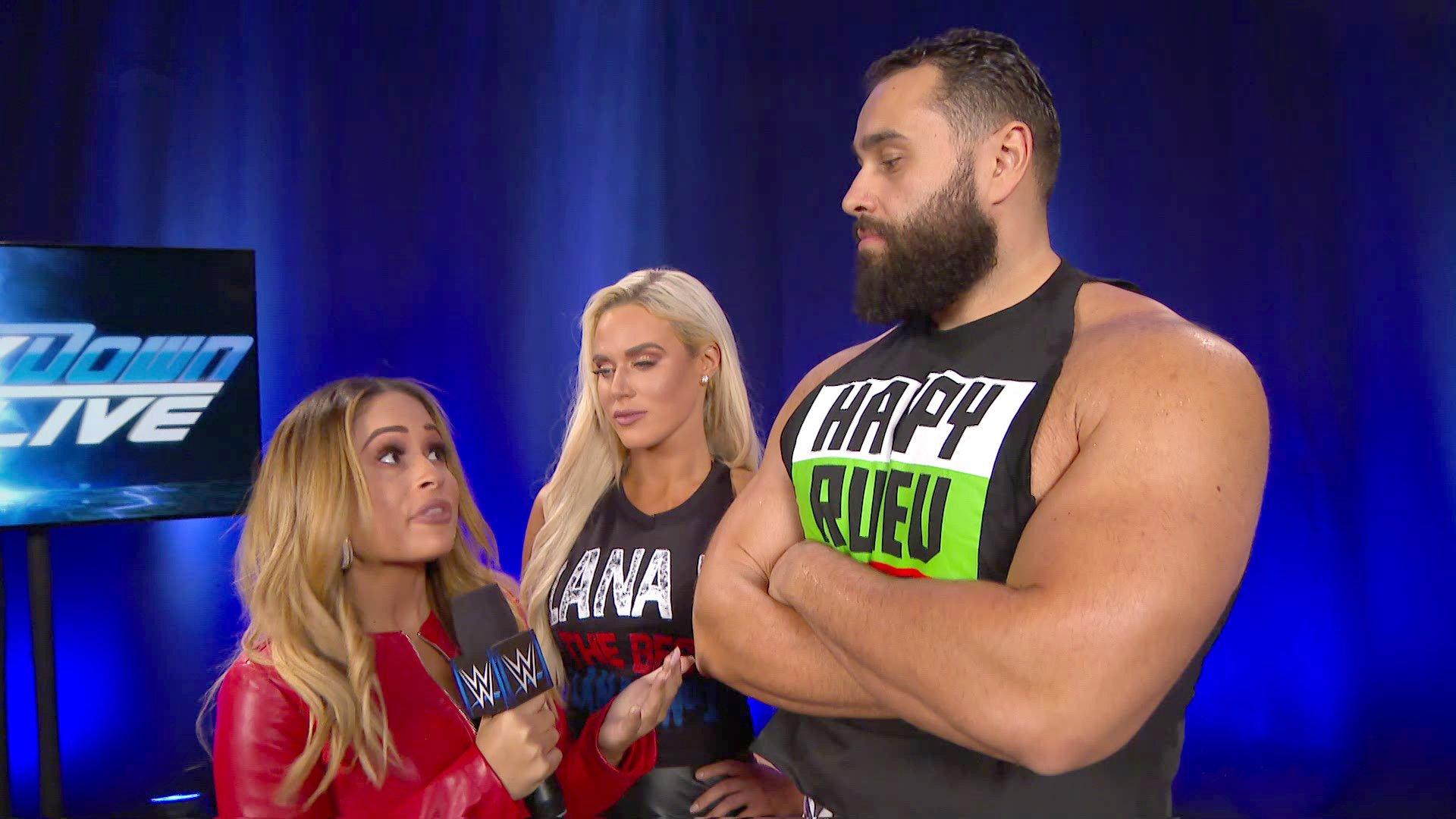 Rusev promet de se régaler de Shinsuke Nakamura: SmackDown LIVE, 4 Décembre 2018