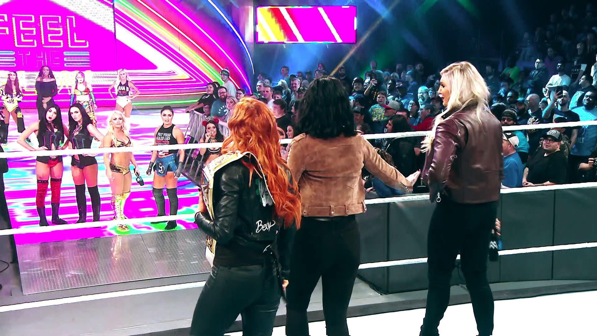 Regardez comment le Tout Premier Match Féminin TLC est devenu réalité: SmackDown LIVE, 4 Décembre 2018