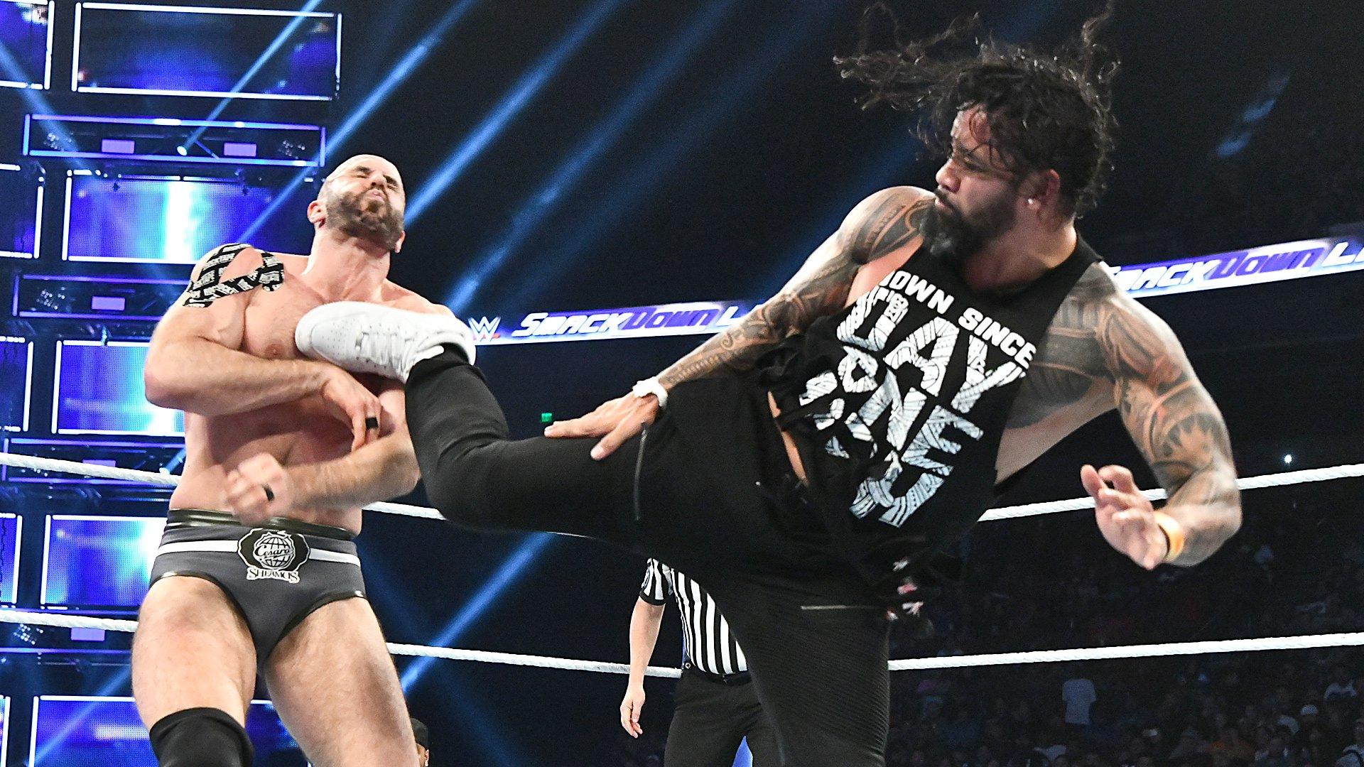Xavier Woods vs. Jey Uso vs. Cesaro: SmackDown LIVE, 4 Décembre 2018