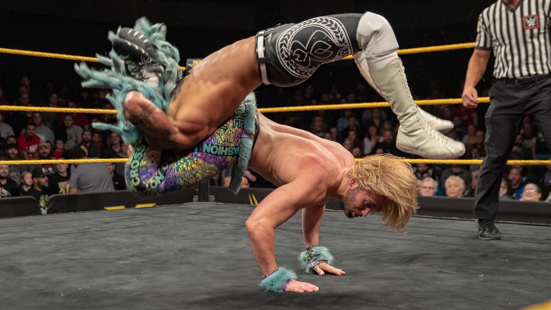 Ricochet vs. Tyler Breeze - Match pour le Titre NXT Nord Américain: WWE NXT, 12 Décembre 2018
