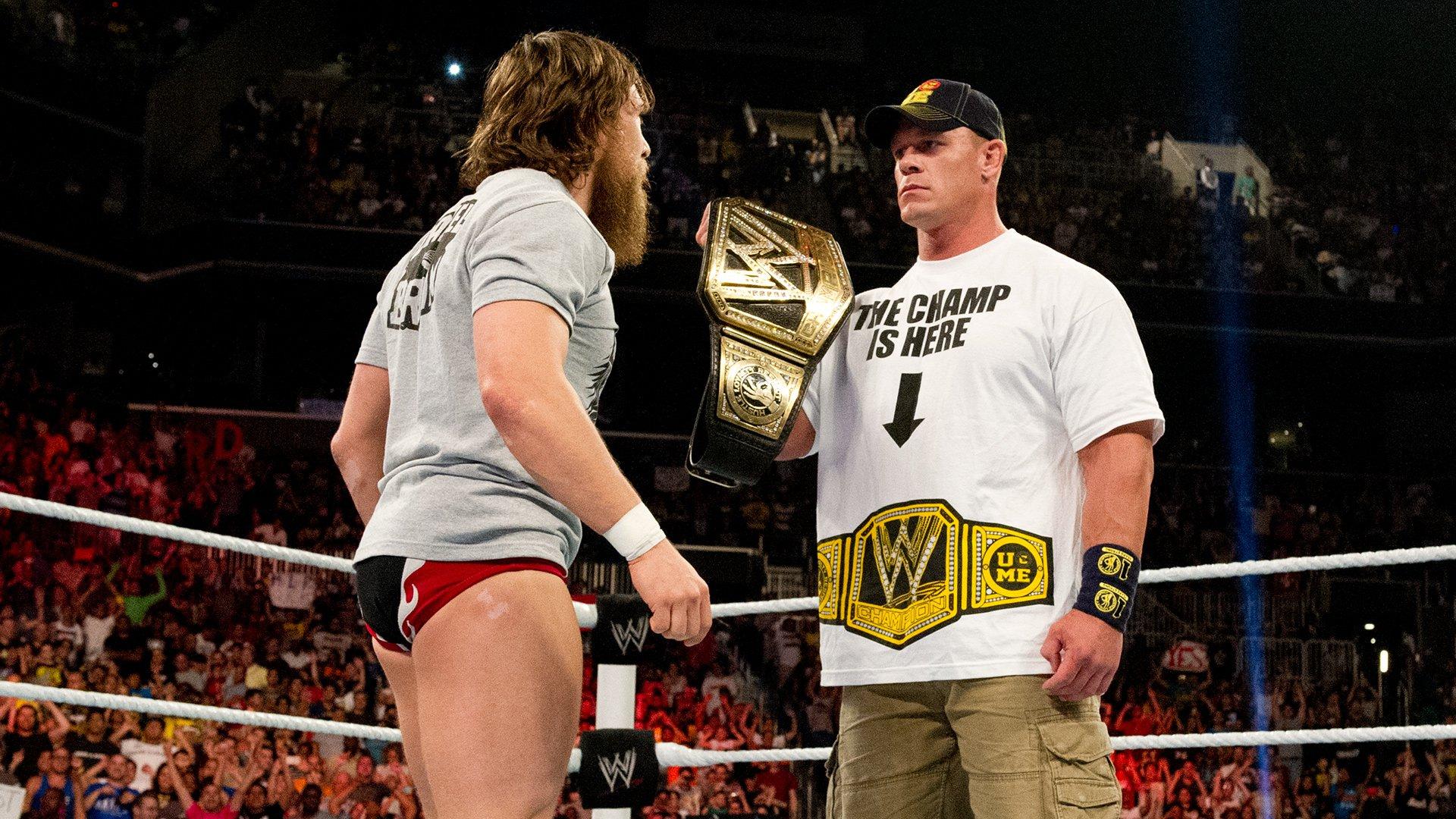 Wwe Champion John Cena Elects To Face Daniel Bryan At Summerslam
