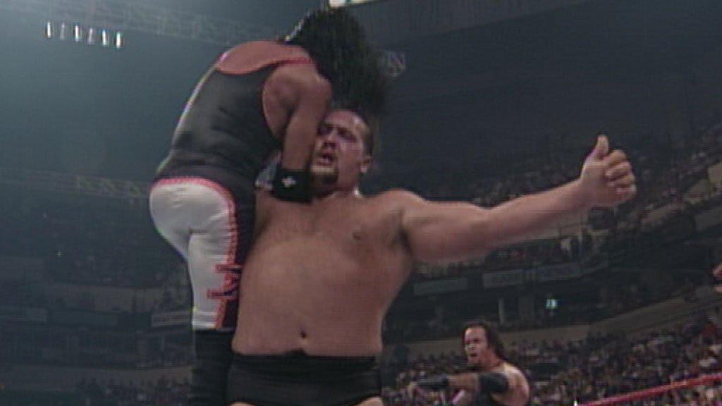 Resultado de imagem para The Undertaker&Big Showvs. X-PaceKane - SummerSlam 1999