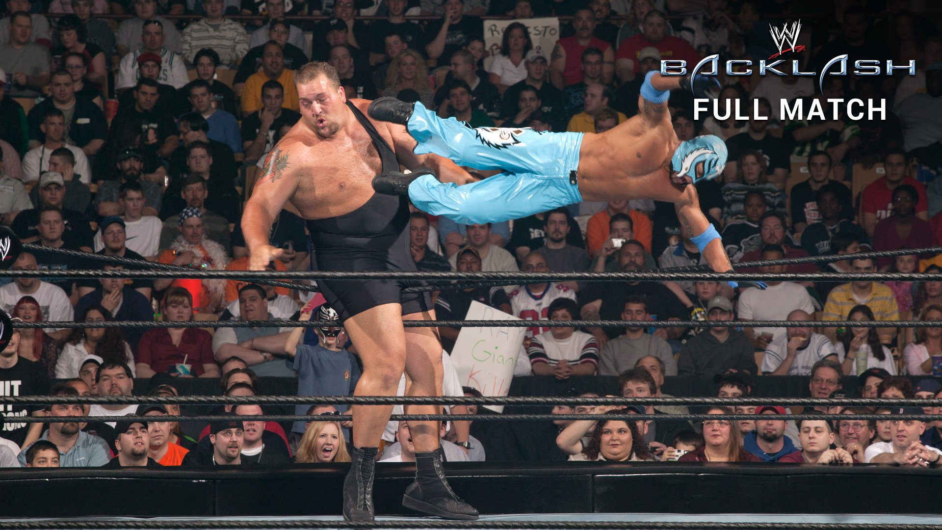 Image result for WWE Backlash 2003  Big Show vs Rey Mysterio