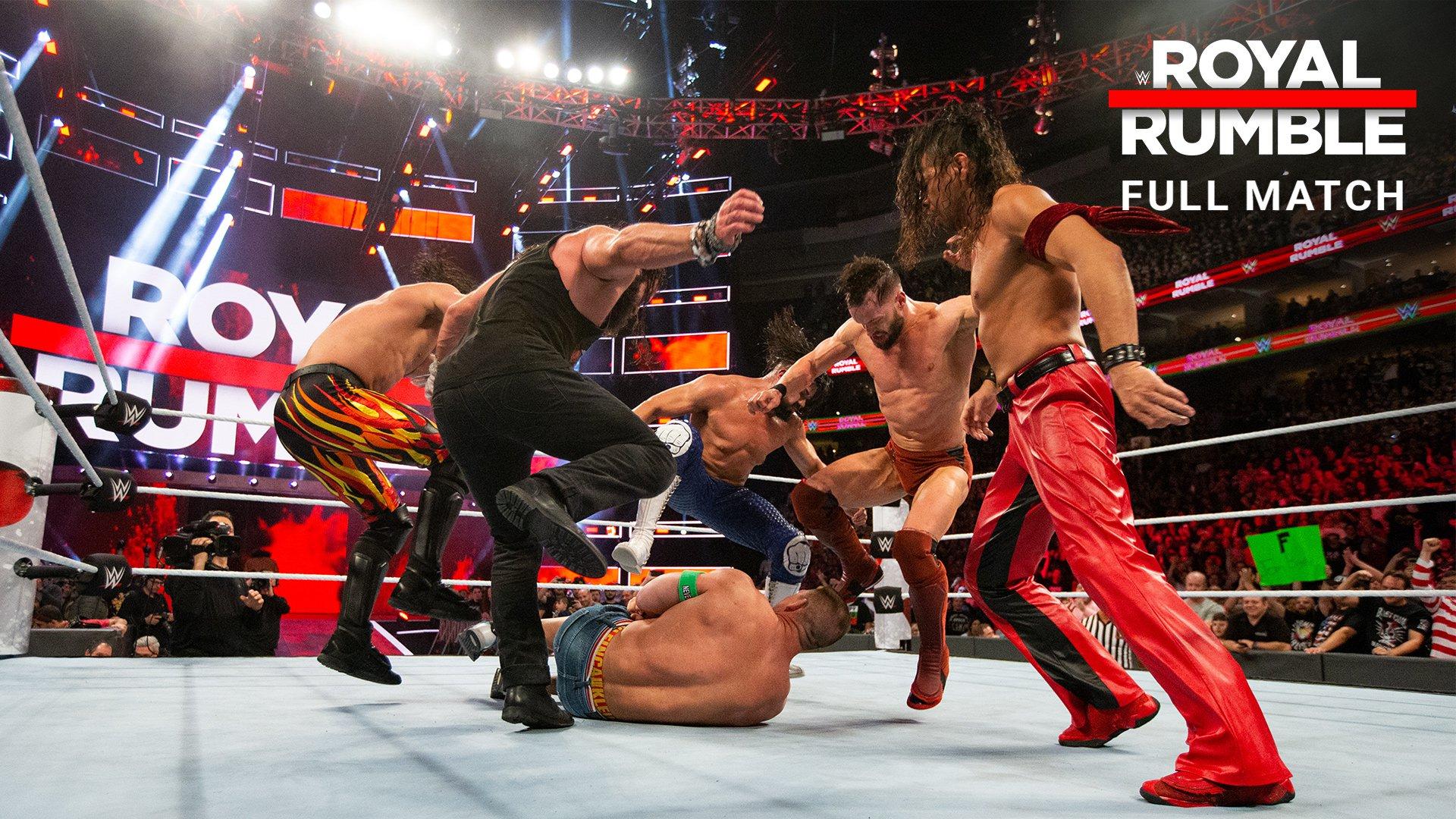 Royal Rumble Match: Royal Rumble 2018 (Match Intégral - Exclusivité WWE Network)