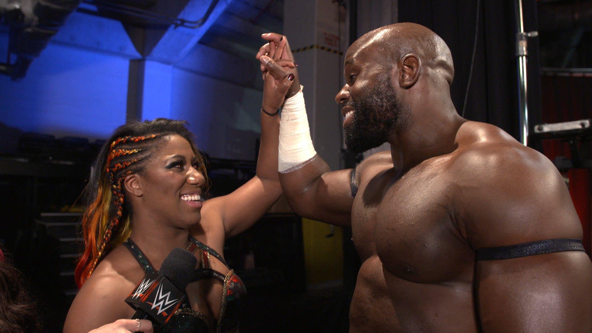 Apollo Crews veut profiter de sa bonne lancée au Match Royal Rumble Homme: WWE.com Exclusive, 7 Janvier 2019.
