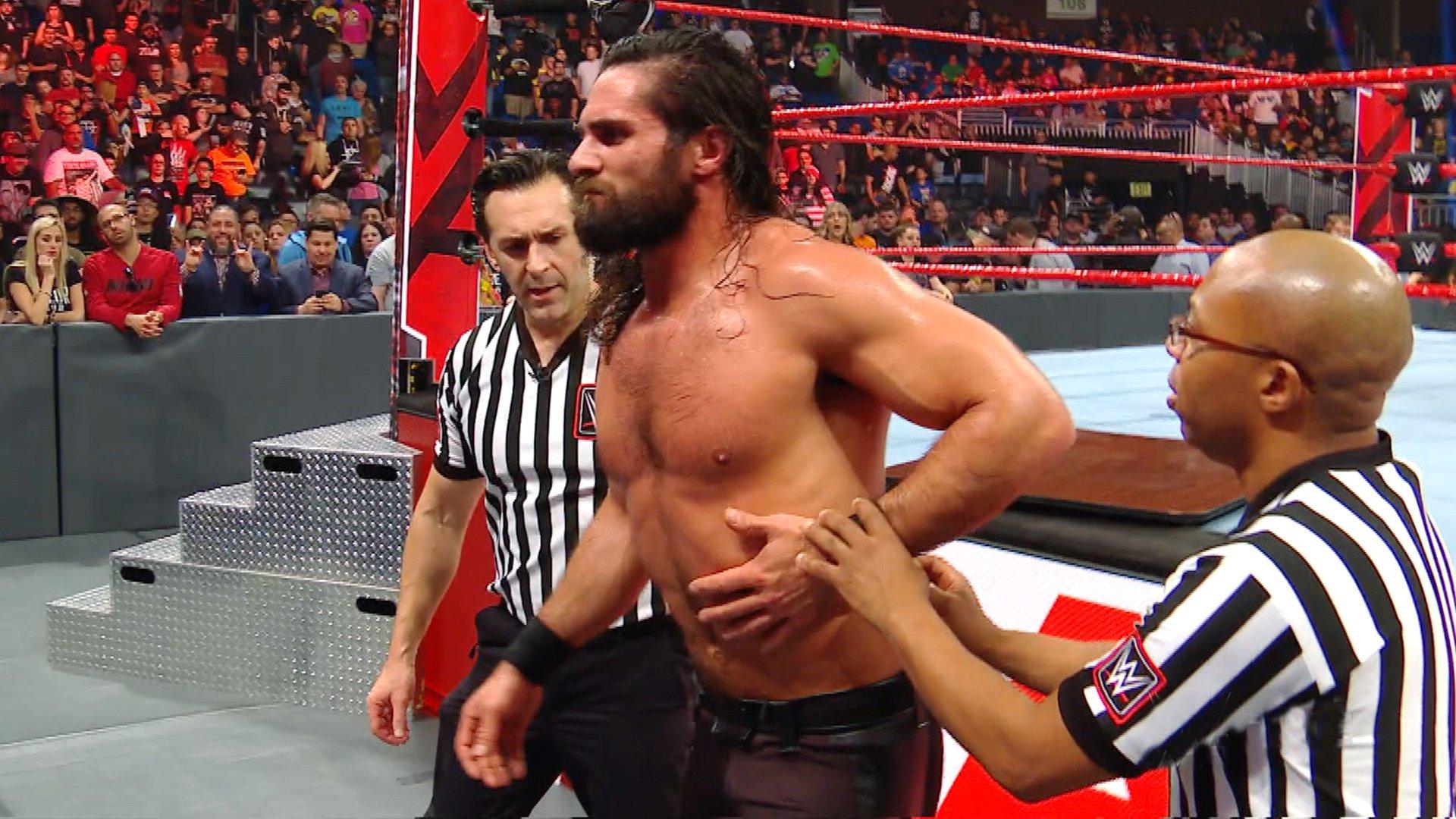 Seth Rollins récupére après l'assaut brutal de Bobby Lashley: Exclusivité WWE.fr, 7 Janvier 2019