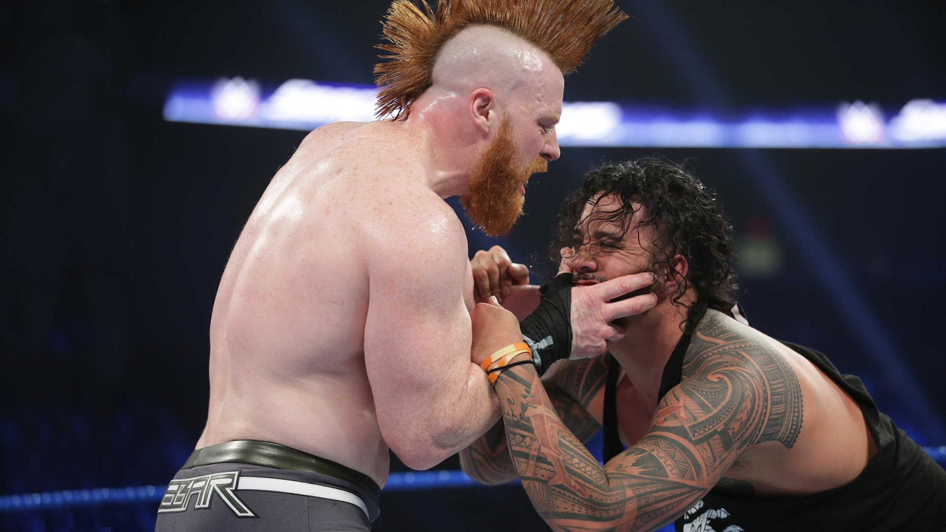 The Usos vs. The Bar: SmackDown LIVE, 8 Janvier 2019