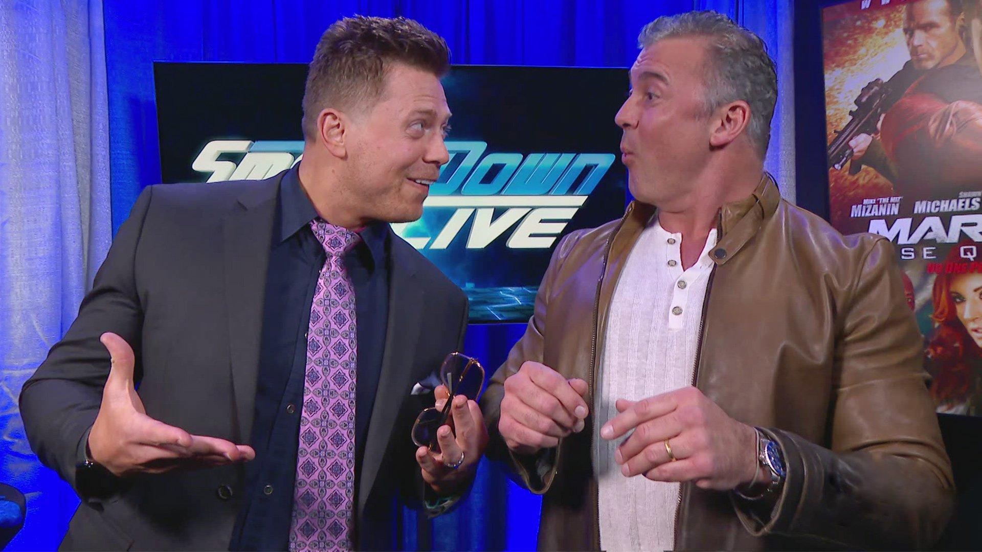 Est-ce que The Miz & Shane McMahon sont sur la même longueur d'ondes?: SmackDown LIVE, 8 Janvier 2019