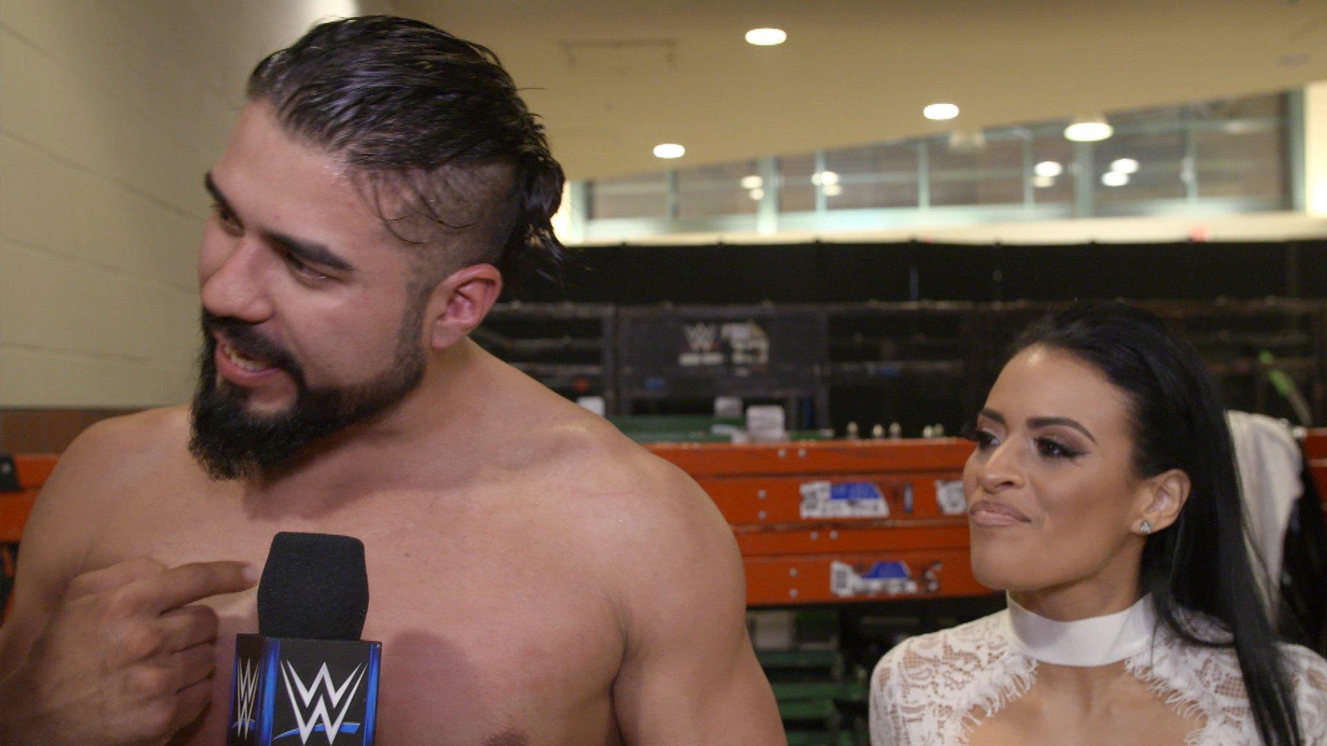 L'année tranquilo d'Almas commence: Exclusivité WWE.fr, 8 Janvier 2019
