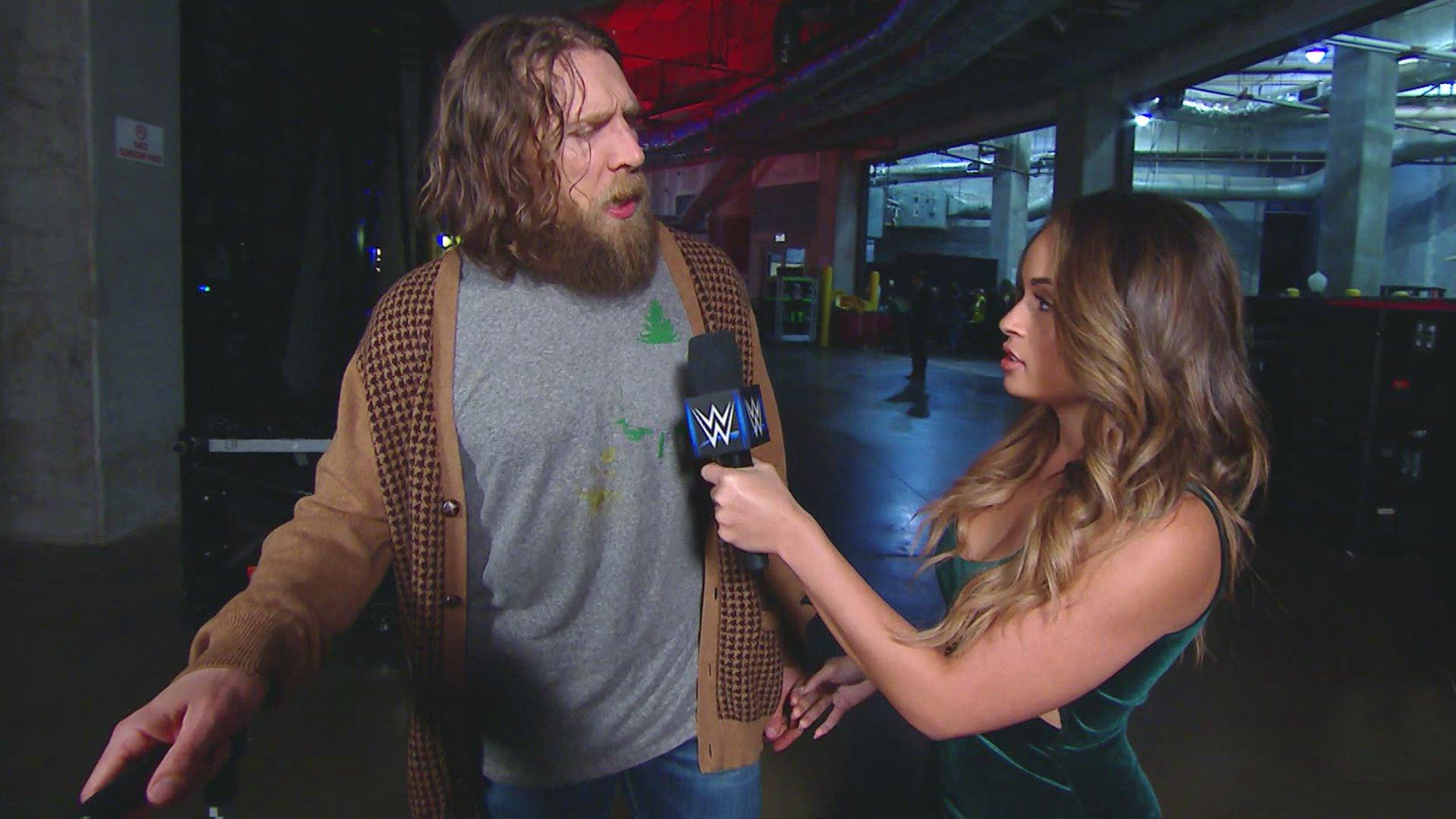 Daniel Bryan se voit Champion WWE pour toujours: SmackDown LIVE, 8 Janvier 2019